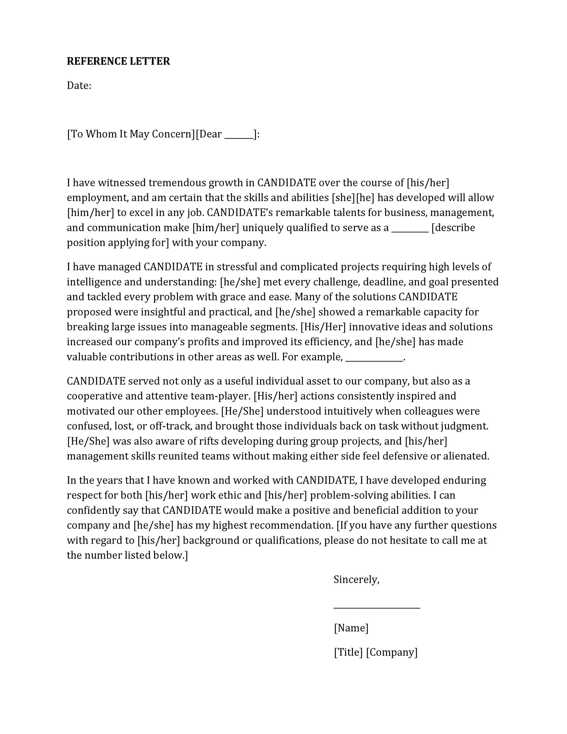 who can write letter of recommendation - Josemulinohouse