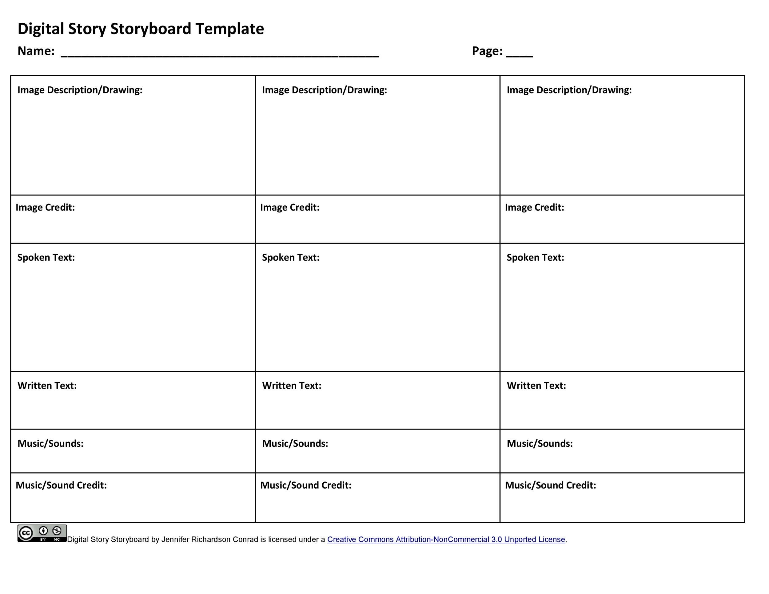 40 Professional Storyboard Templates  Examples - interactive storyboards