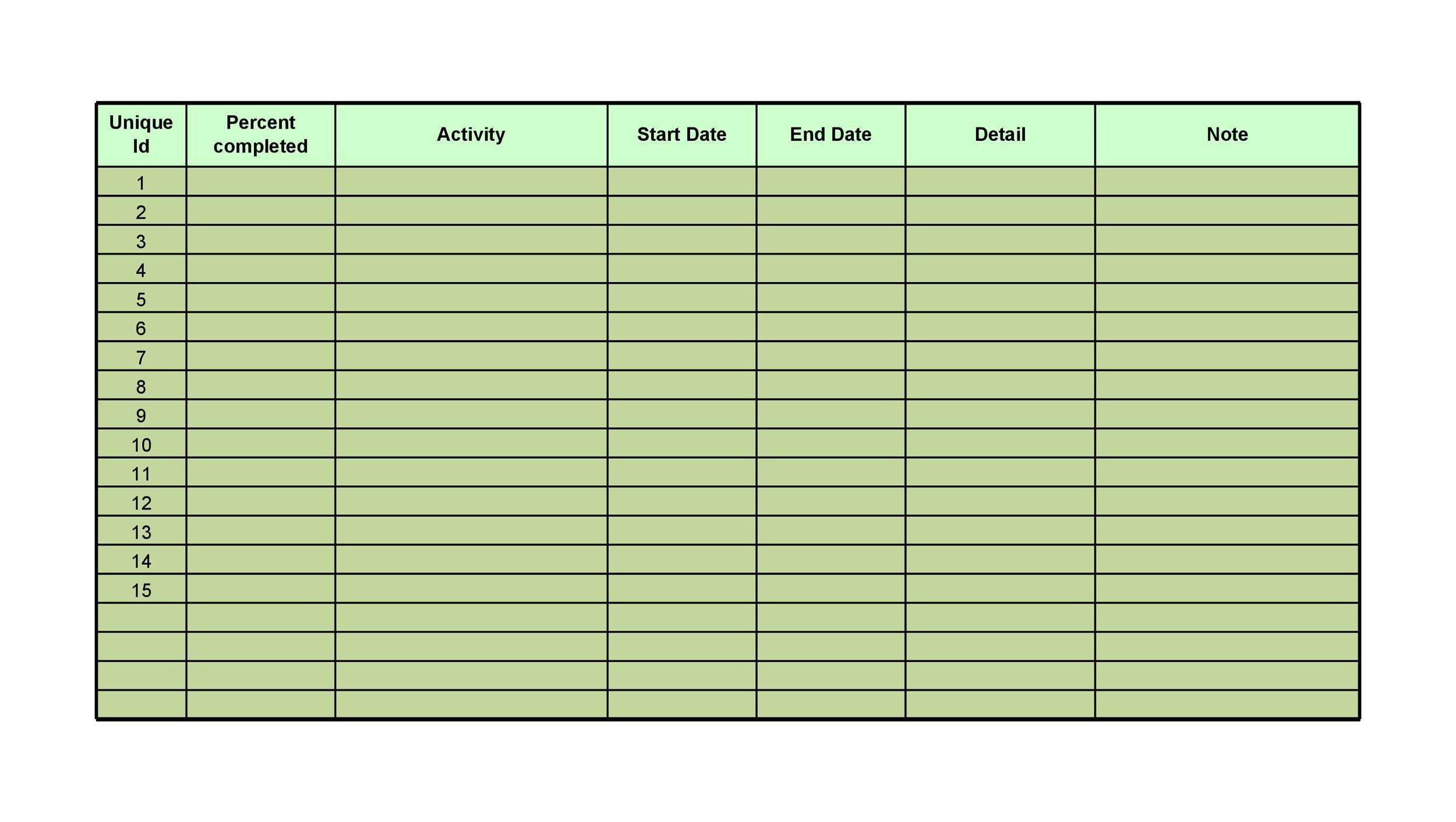 50+ Printable To Do List  Checklist Templates (Excel + Word) - word checklist template