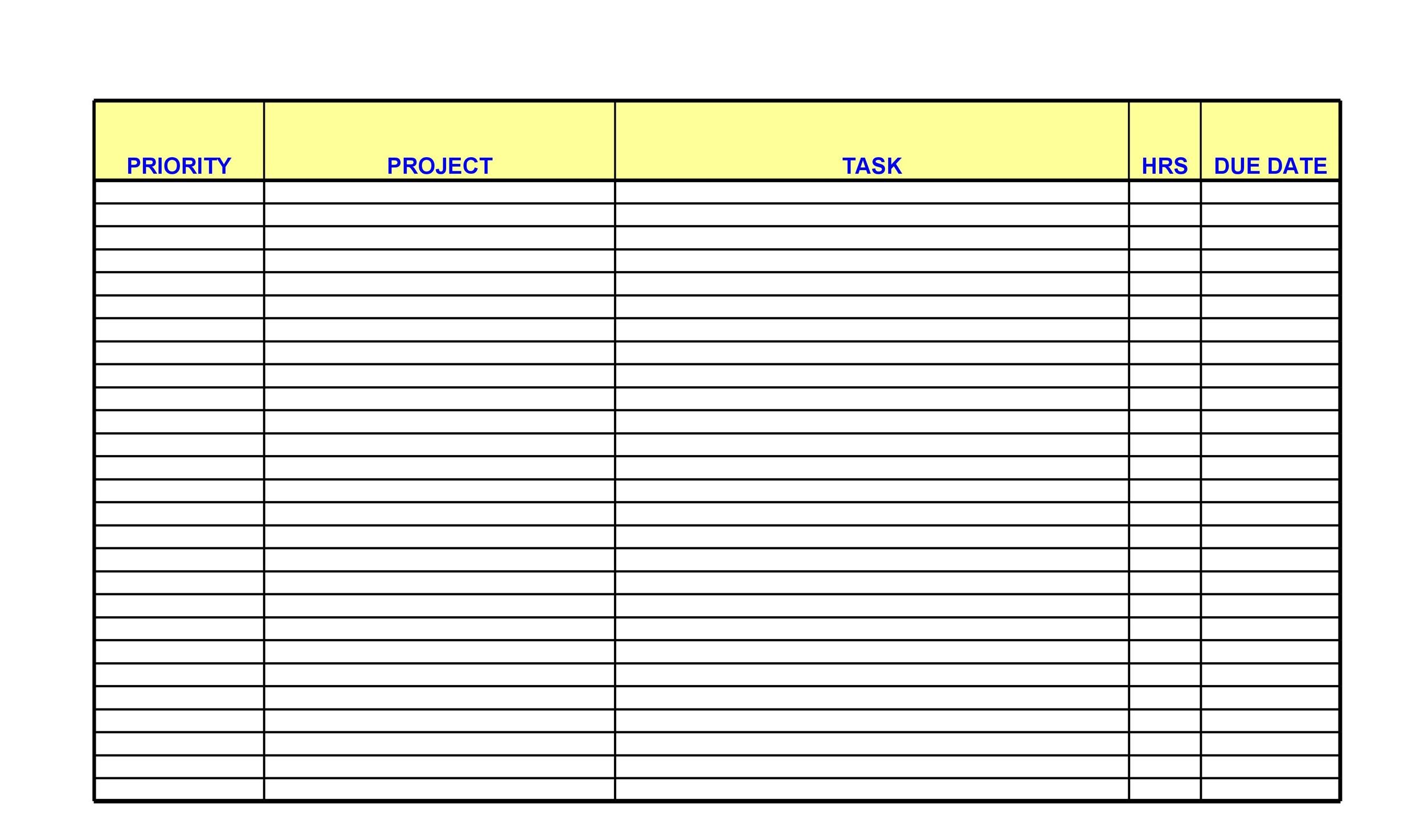 50+ Printable To Do List  Checklist Templates (Excel + Word) - checklist template word