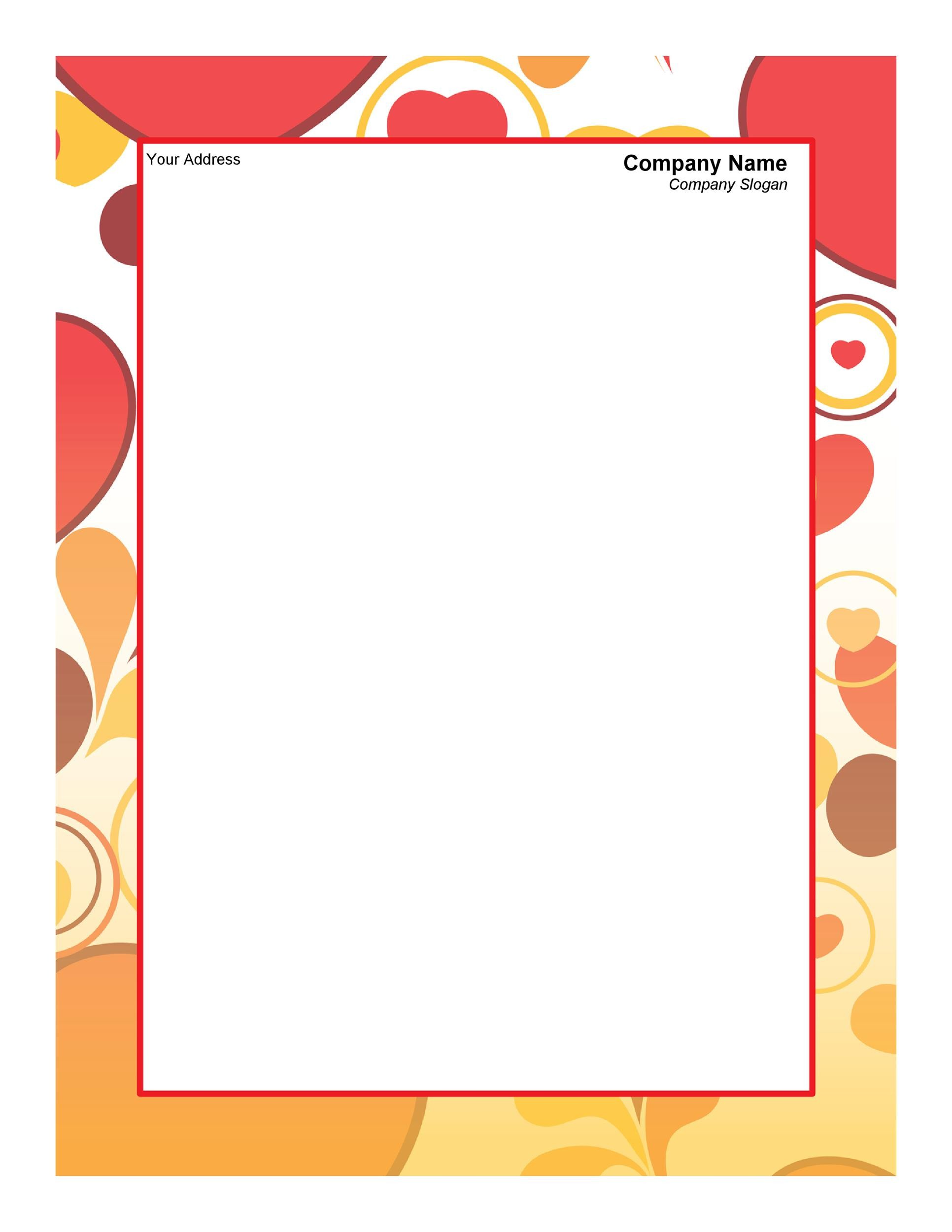45+ Free Letterhead Templates  Examples (Company, Business, Personal)