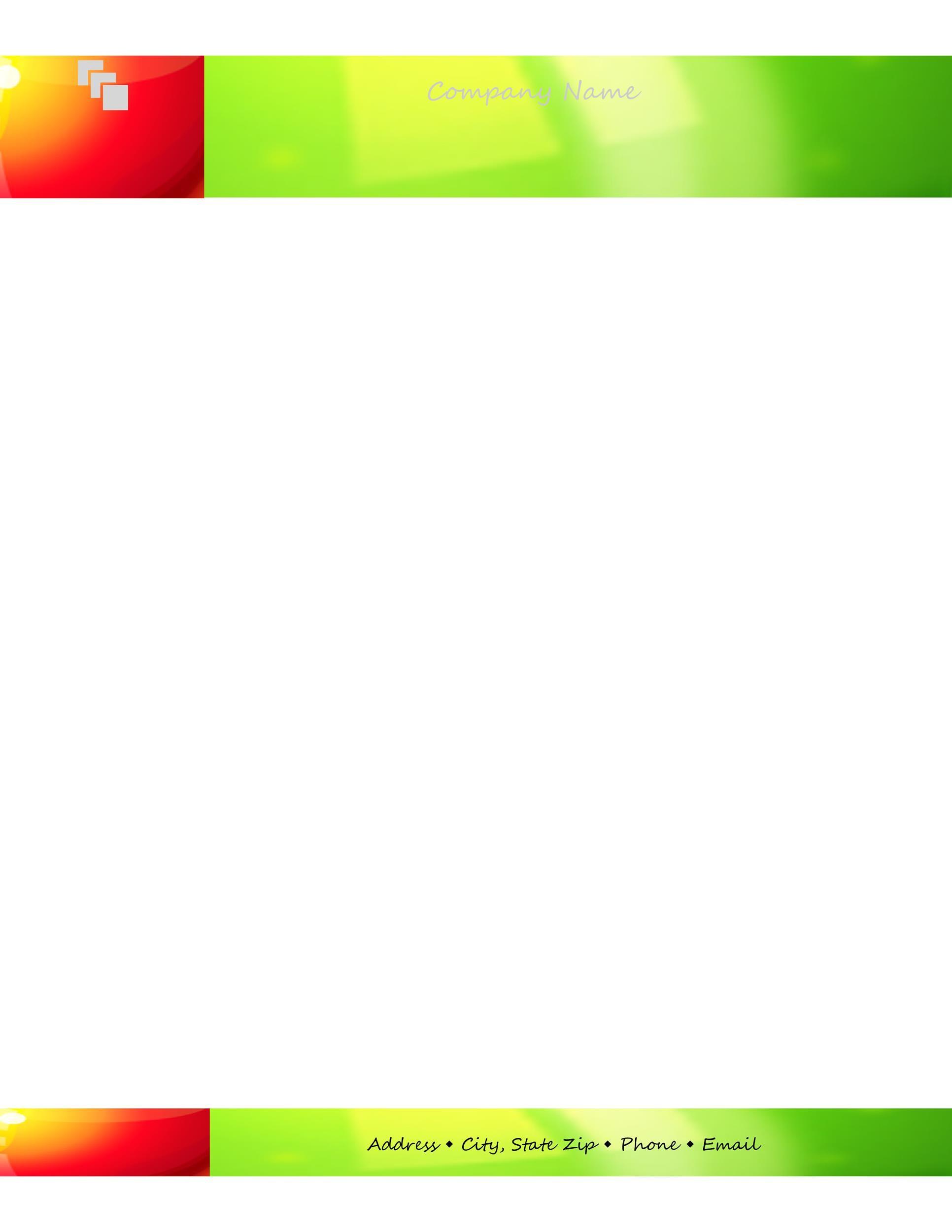 De 25+ Bedste Idéer Inden For Company Letterhead Template - letterhead format in word