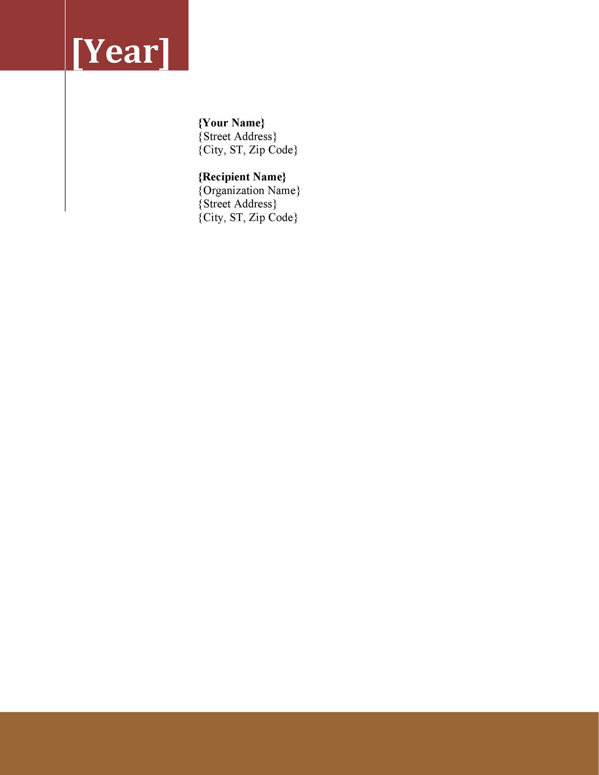 free letterhead templates for microsoft word - Onwebioinnovate