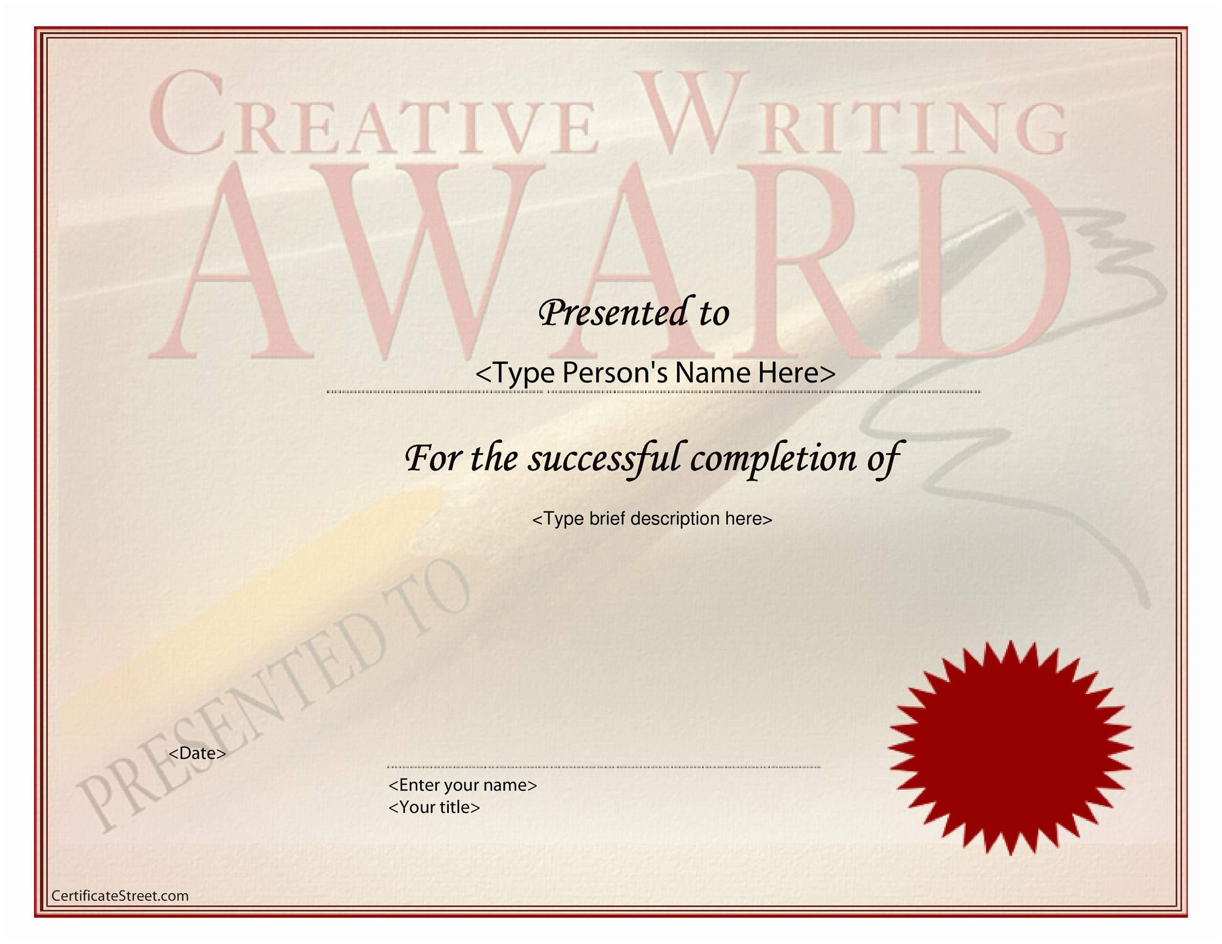 50 Amazing Award Certificate Templates - Template Lab - Award Paper Template
