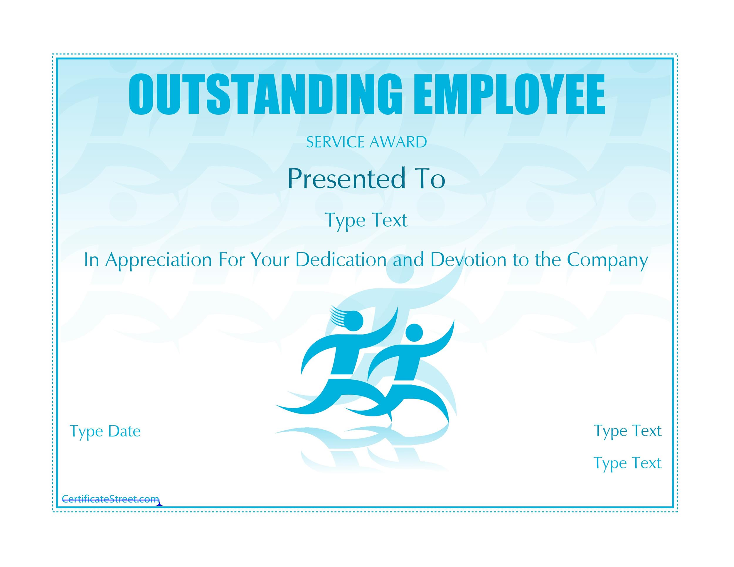 50 Amazing Award Certificate Templates - Template Lab - samples of certificate of employment