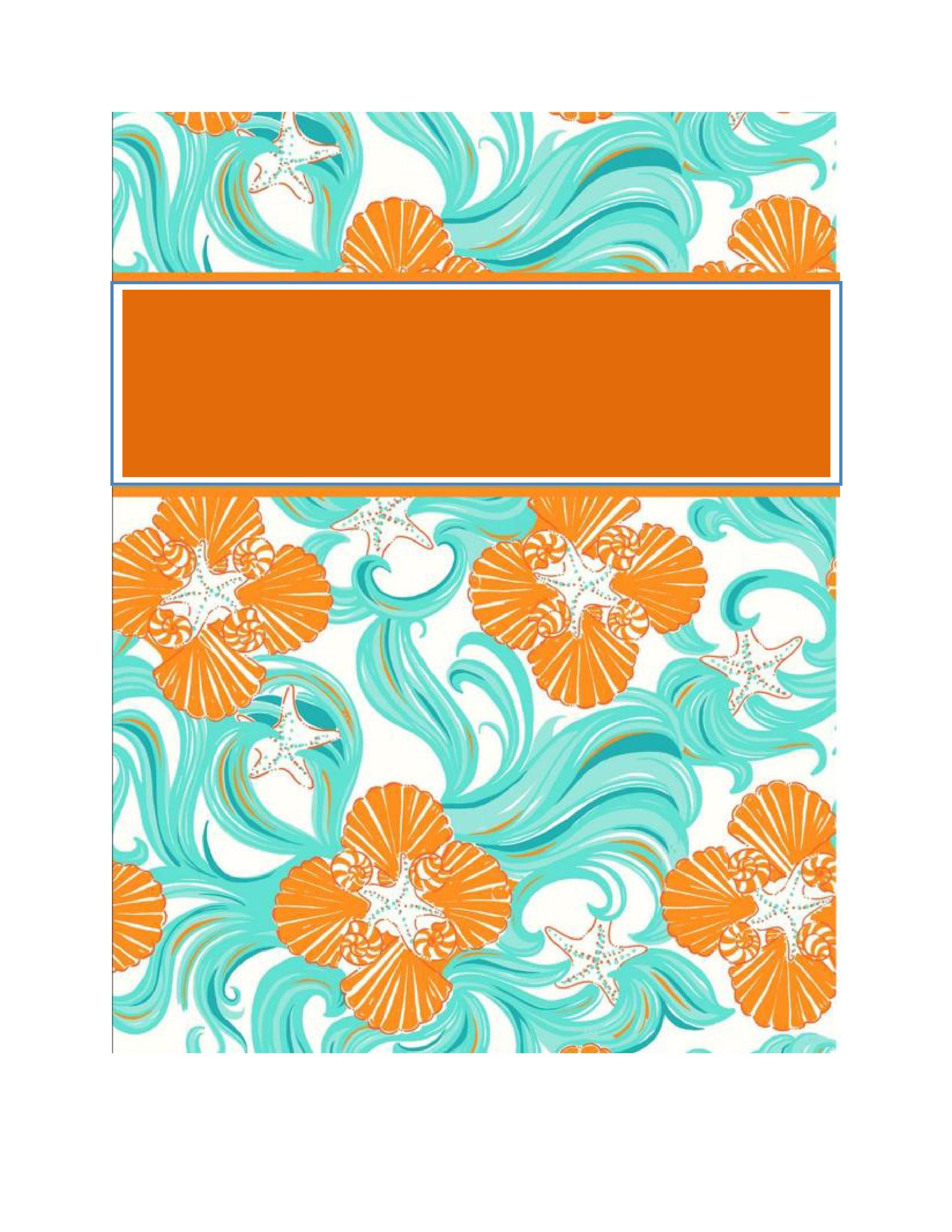 35 Beautifull Binder Cover Templates - Template Lab