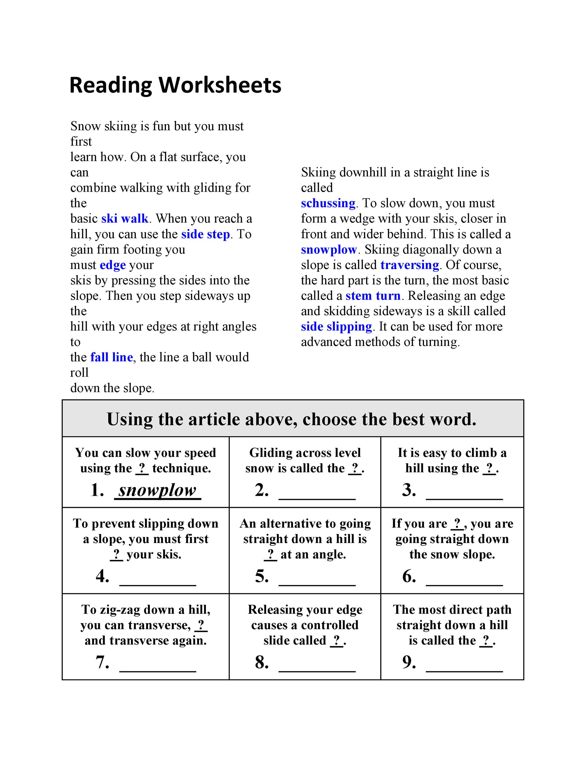 30 Book Report Templates  Reading Worksheets - printable book report forms