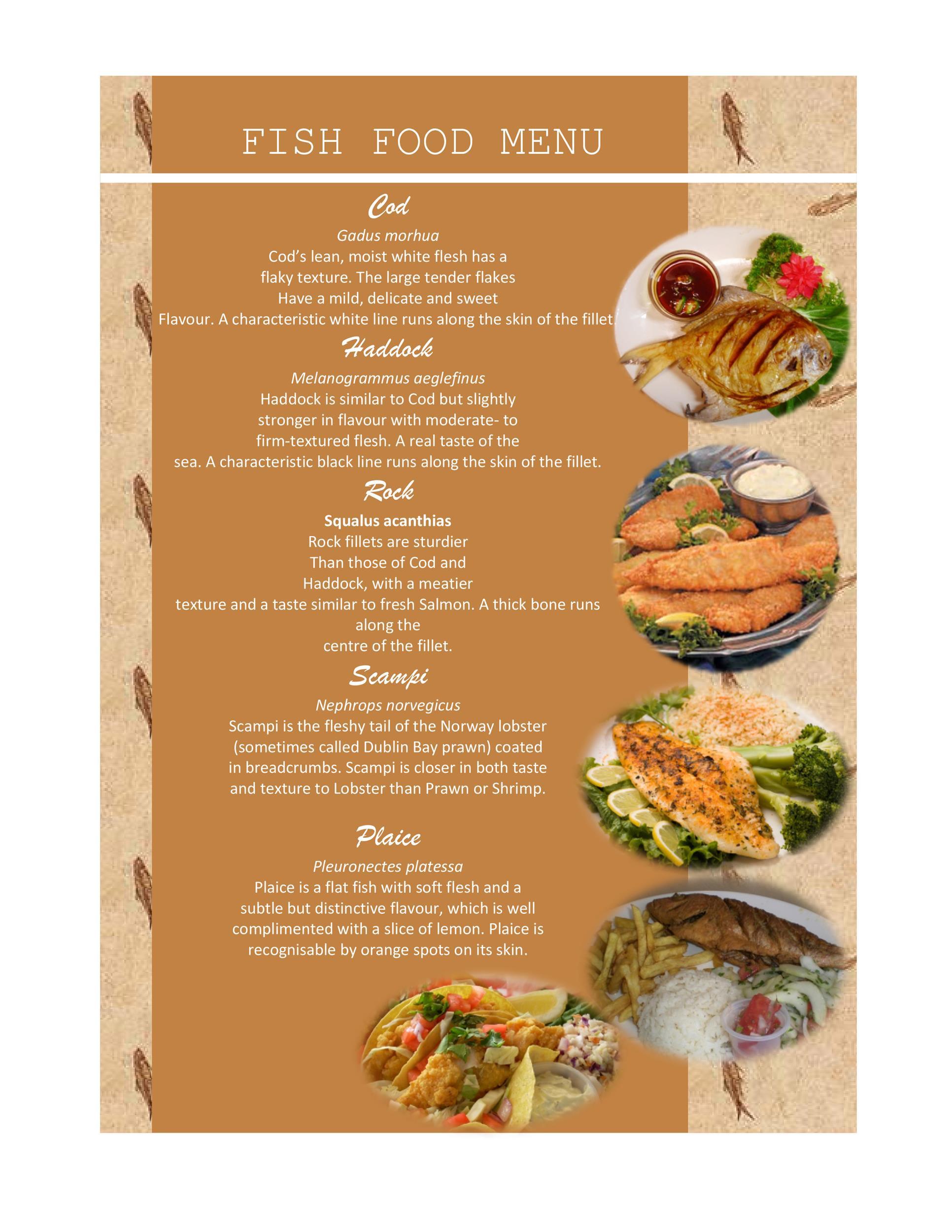 30 Restaurant Menu Templates  Designs - Template Lab - a la carte menu template