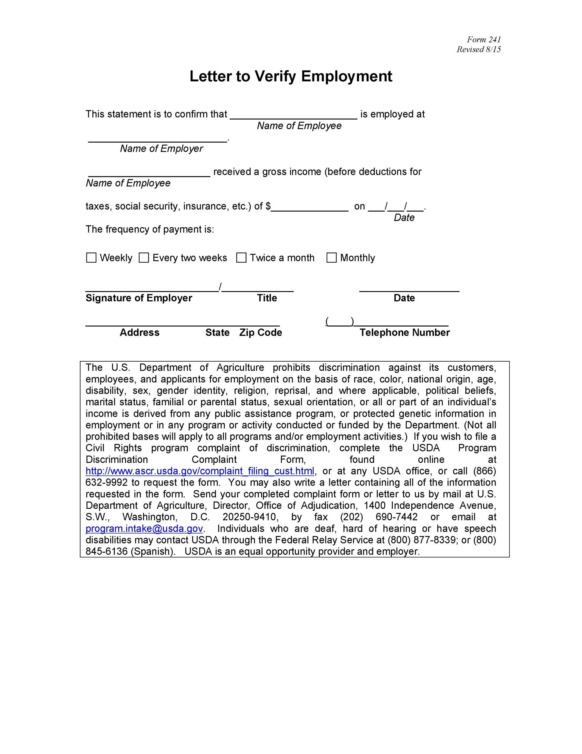verification employment letter - Ozilalmanoof - Job Verification Letter