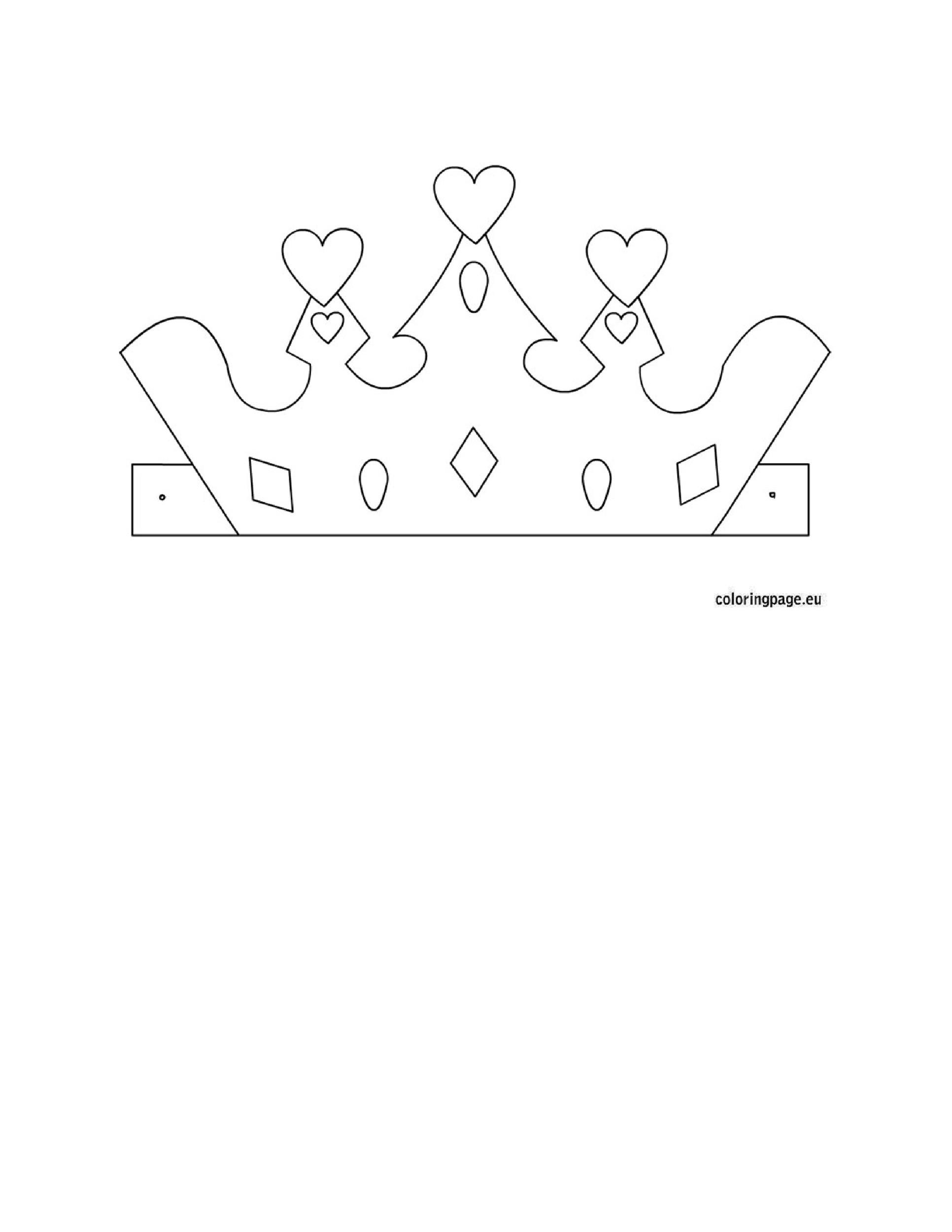 45 Free Paper Crown Templates - Template Lab