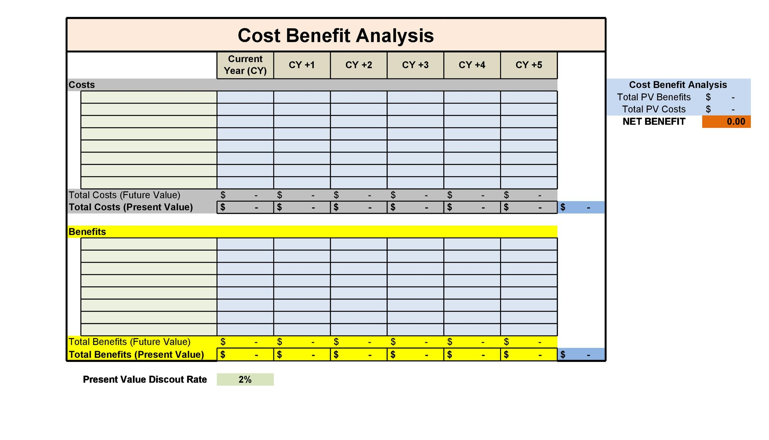 40+ Cost Benefit Analysis Templates  Examples! - Template Lab