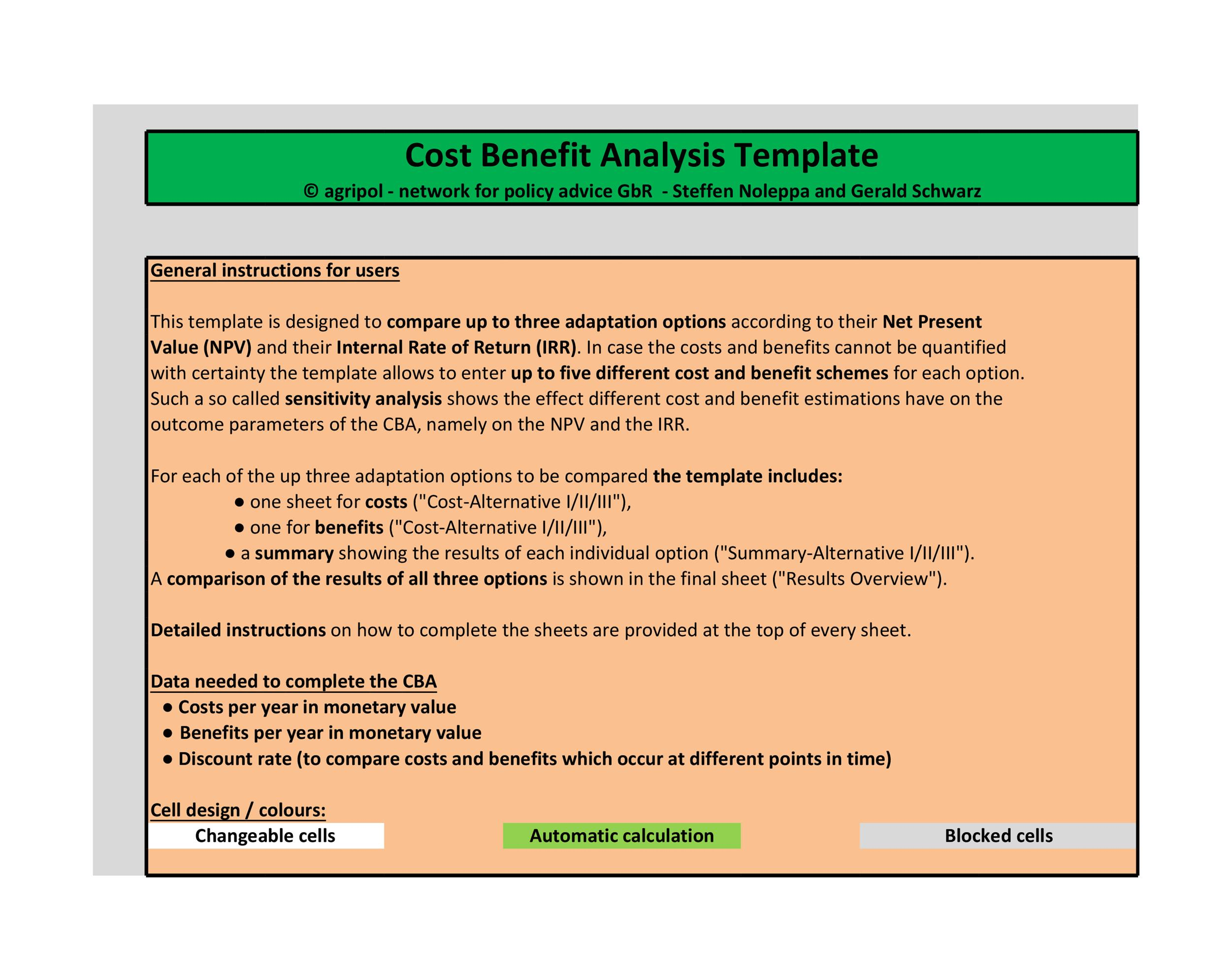 40+ Cost Benefit Analysis Templates  Examples! - Template Lab - cost savings analysis template