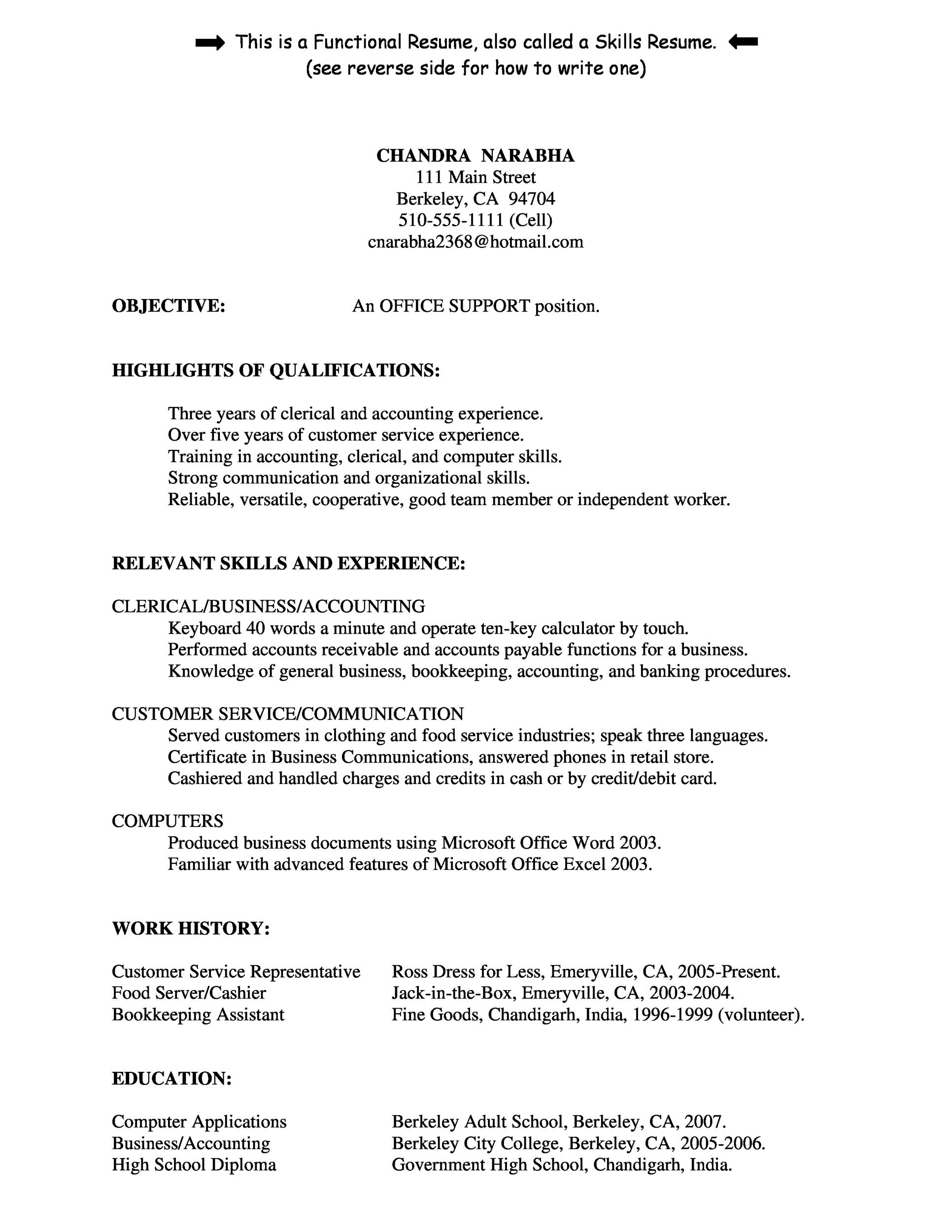 30+ Customer Service Resume Examples - Template Lab - how to word a resume
