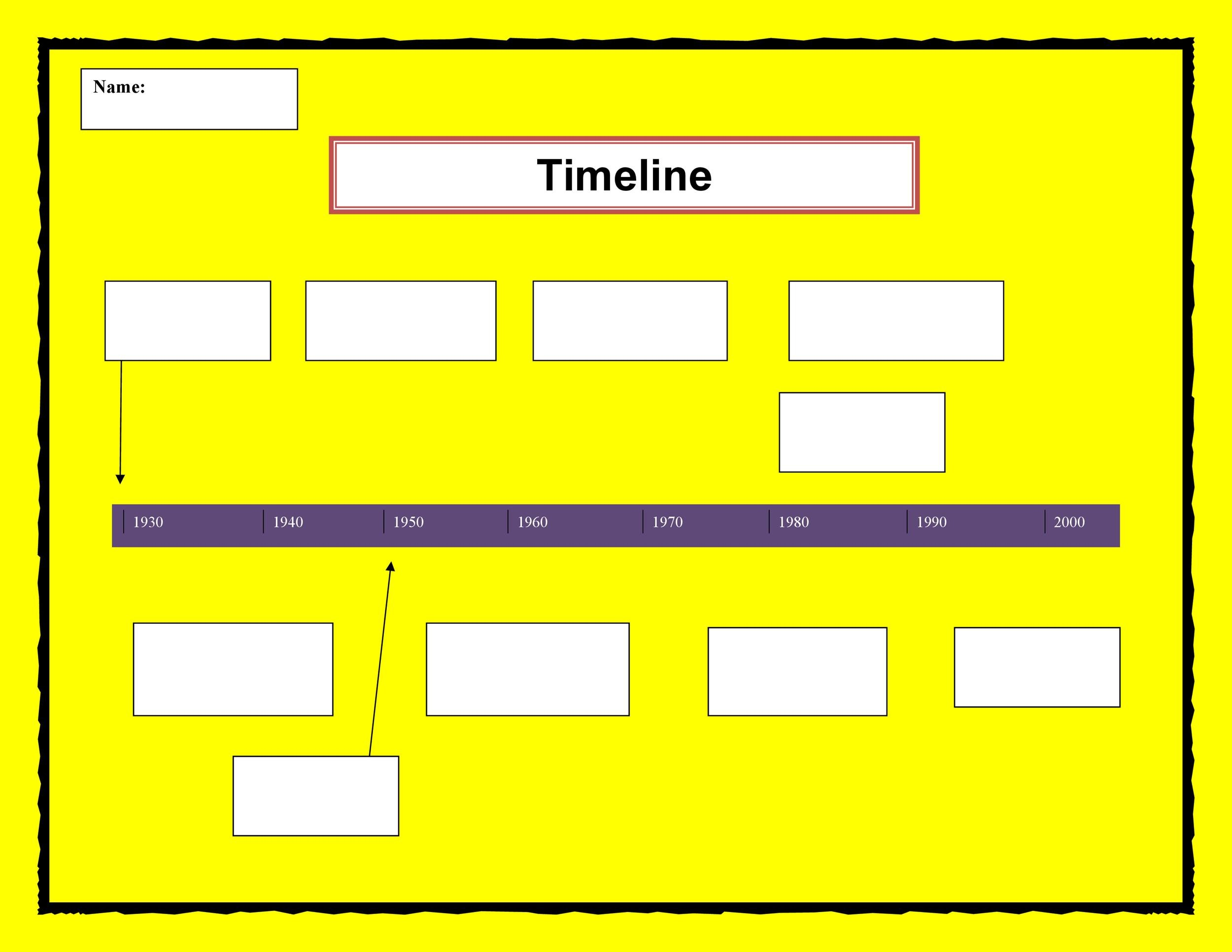 30+ Timeline Templates (Excel, Power Point, Word) - Template Lab - template timeline excel