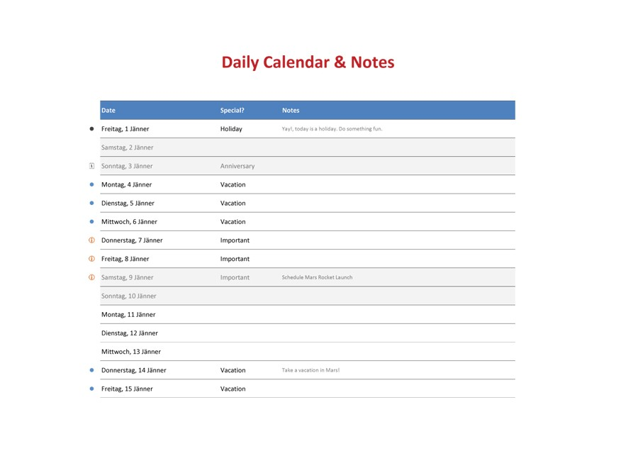 40+ Printable Daily Planner Templates (FREE) - Template Lab - calendar daily planner