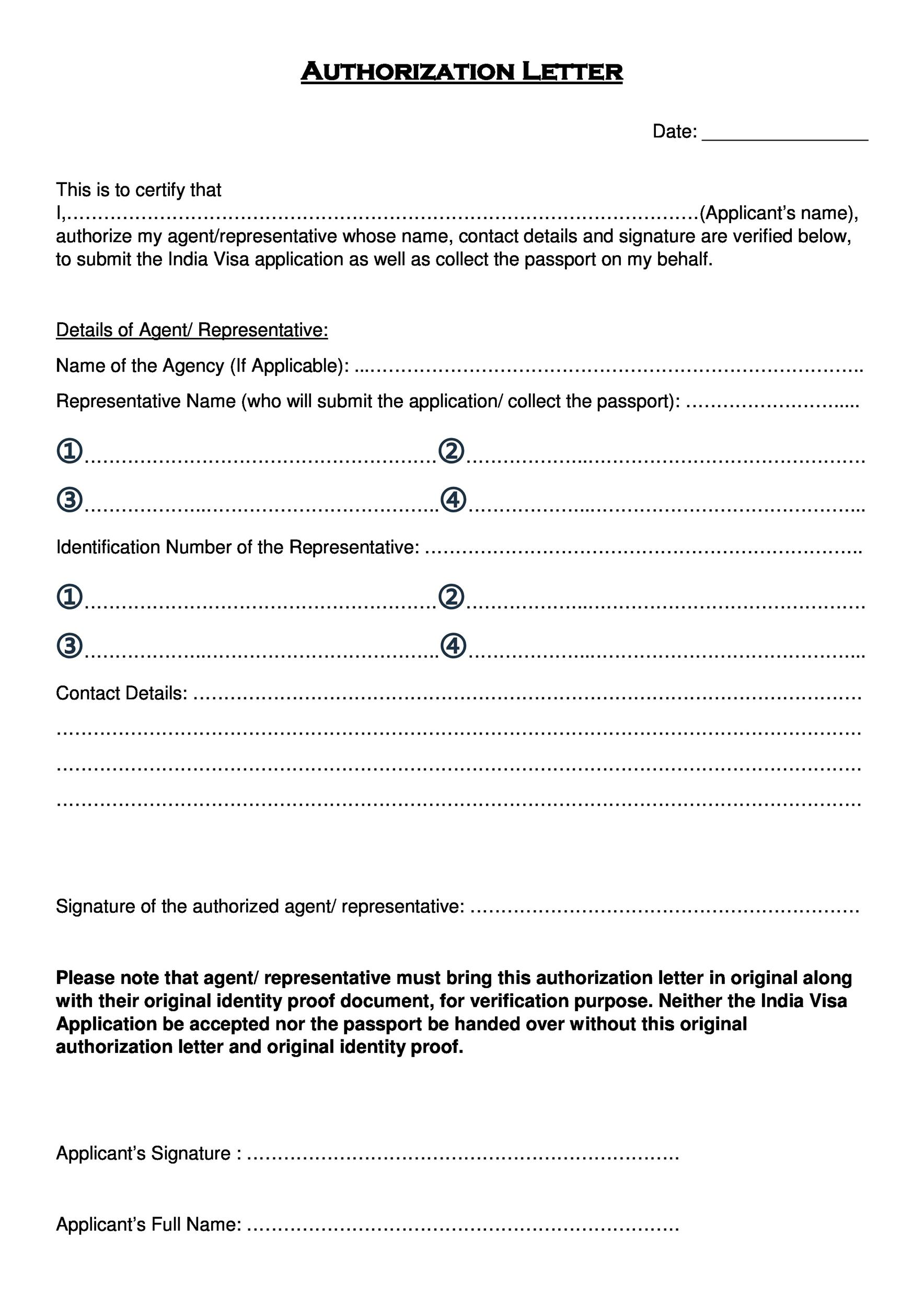 Parent Authorization Letter For Minors Traveling To Mexico 46 Authorization Letter Samples And Templates Template Lab