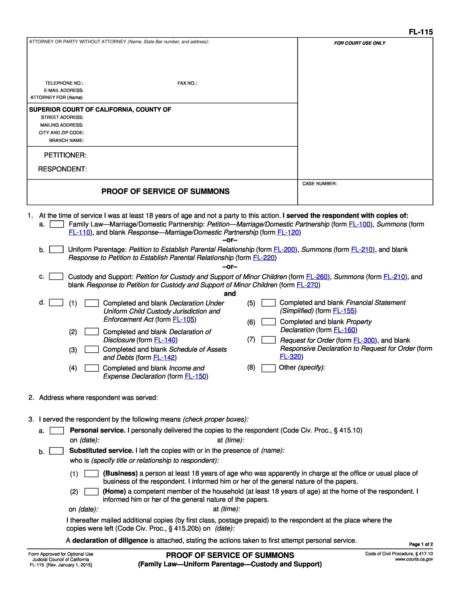 40 Free Divorce Papers (Printable) - Template Lab - blank divorce papers