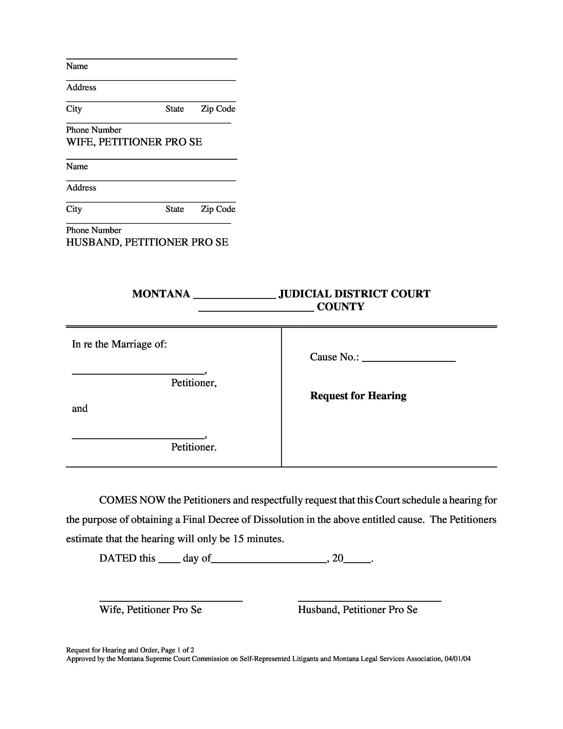 40 Free Divorce Papers (Printable) - Template Lab - printable divorce papers for free