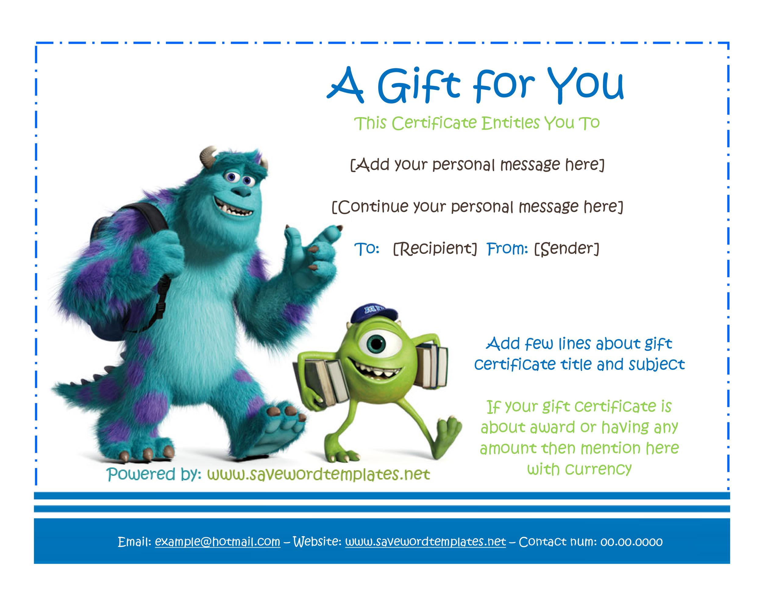 31+ Free Gift Certificate Templates ᐅ Template Lab