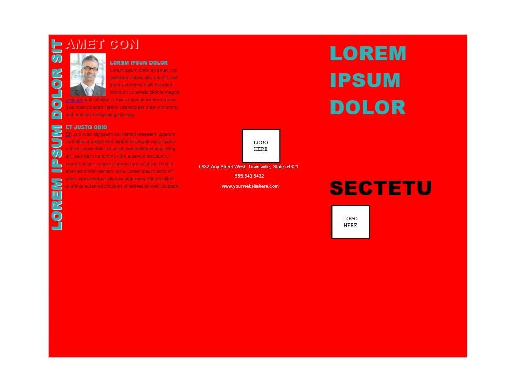 31 FREE Brochure Templates (Word + PDF) - Template Lab