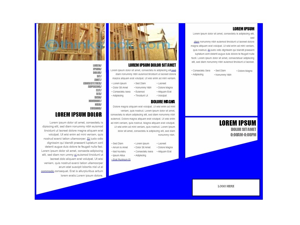 Pdf Brochure Templates Costumepartyrun