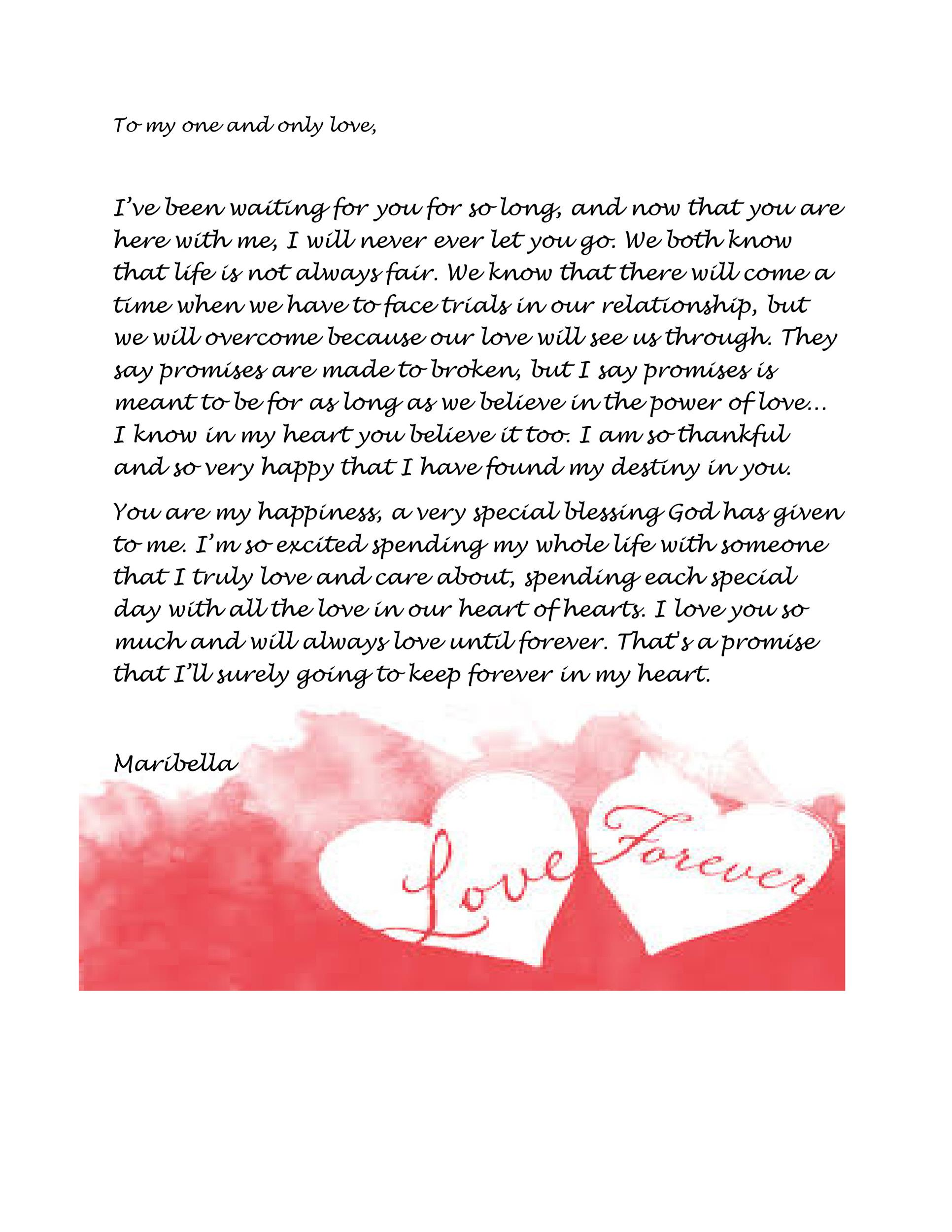 45 ♥ Romantic Love Letters for Her  for Him ♥ - how to write romantic letters