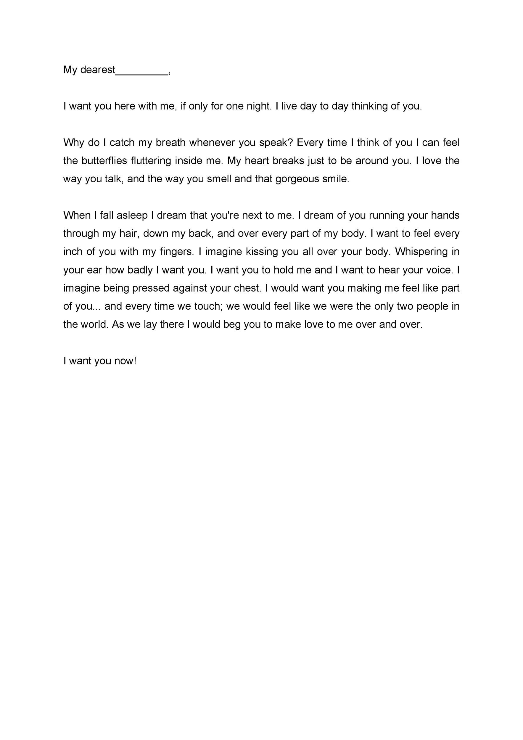 Love Letter Template Choice Image - Template Design Ideas - love letter template for him