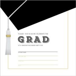 Small Crop Of Graduation Invitation Templates