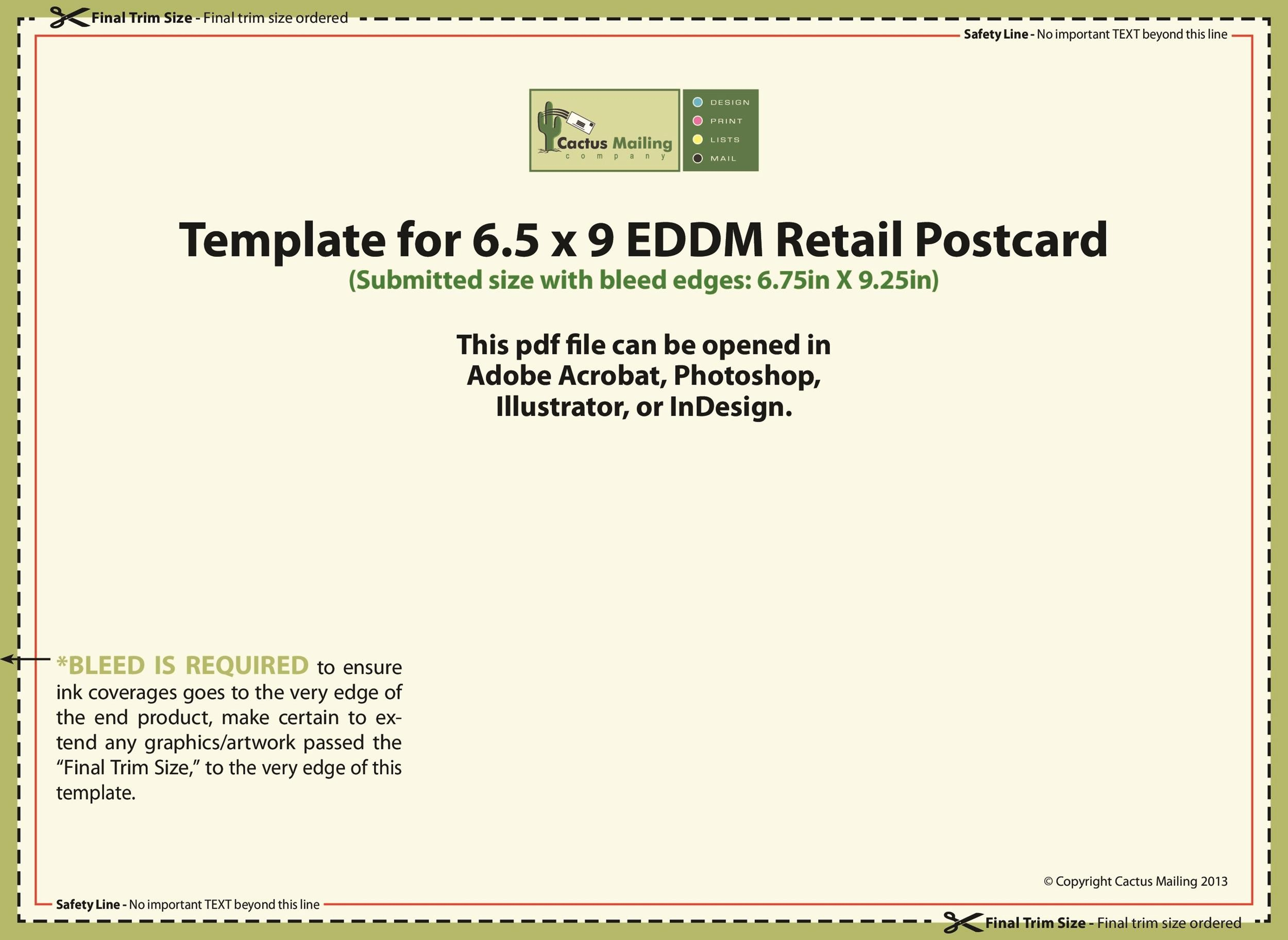 40+ Great Postcard Templates  Designs Word + PDF ᐅ Template Lab