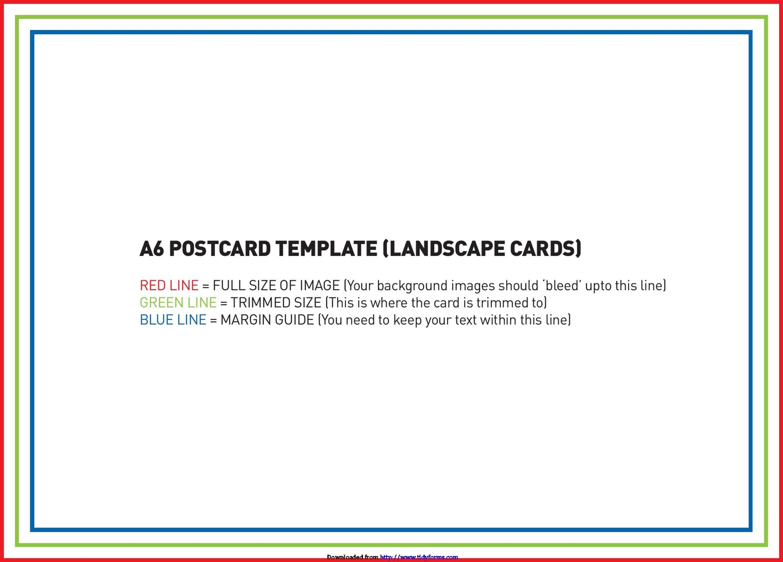 40+ Great Postcard Templates  Designs Word + PDF - Template Lab