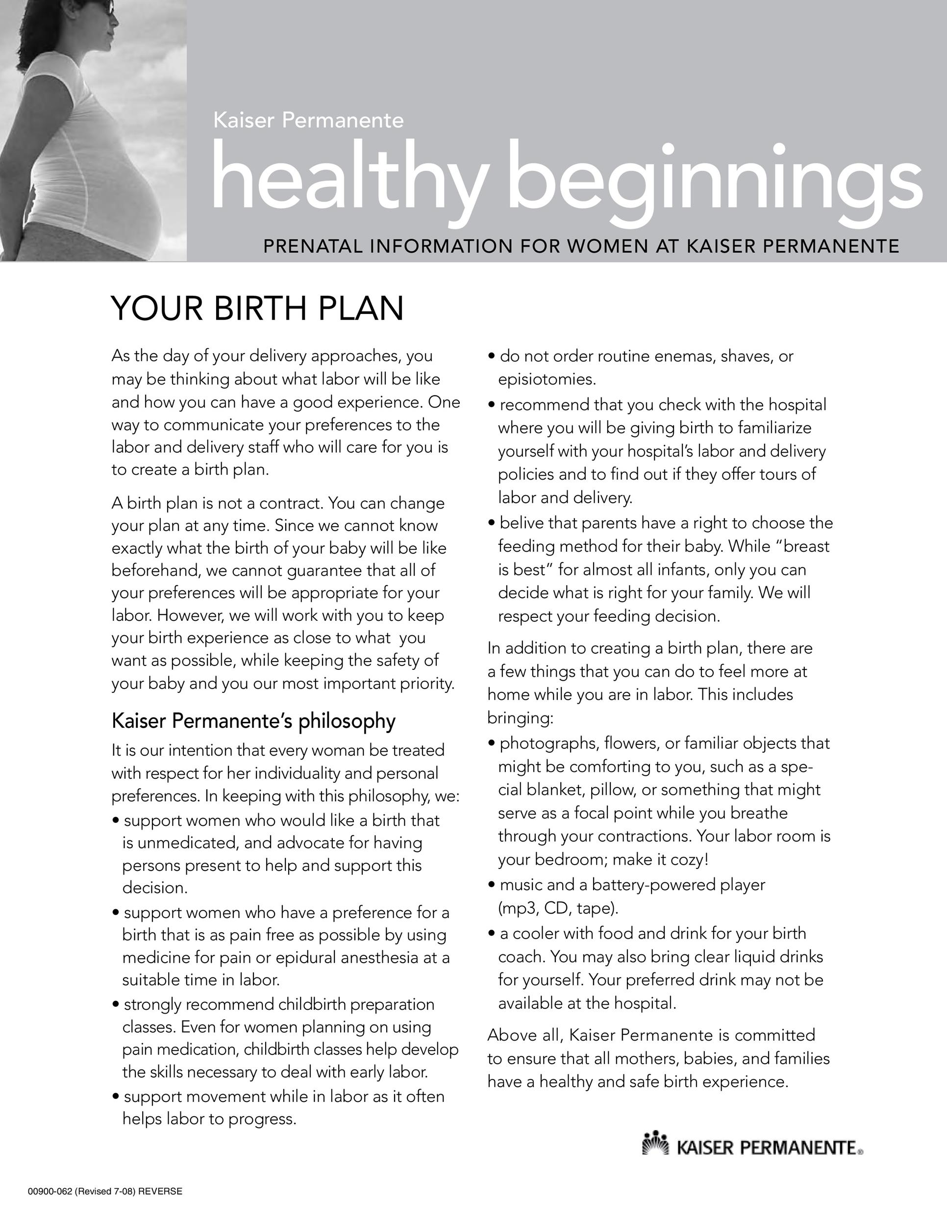 47+ Printable Birth Plan Templates Birth Plan Checklist - Template Lab - birth plan sample