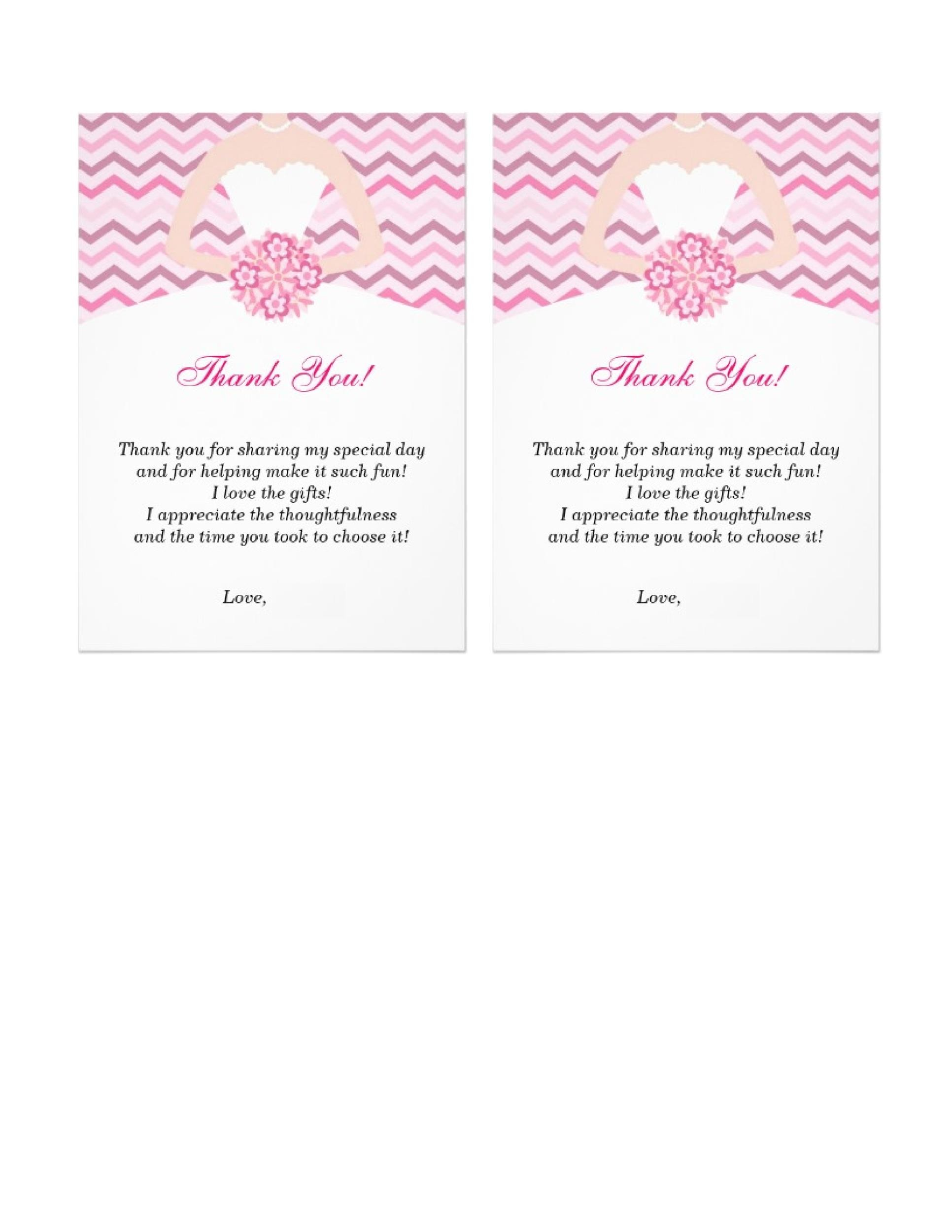 30+ Free Printable Thank You Card Templates (Wedding, Graduation - free thank you card template