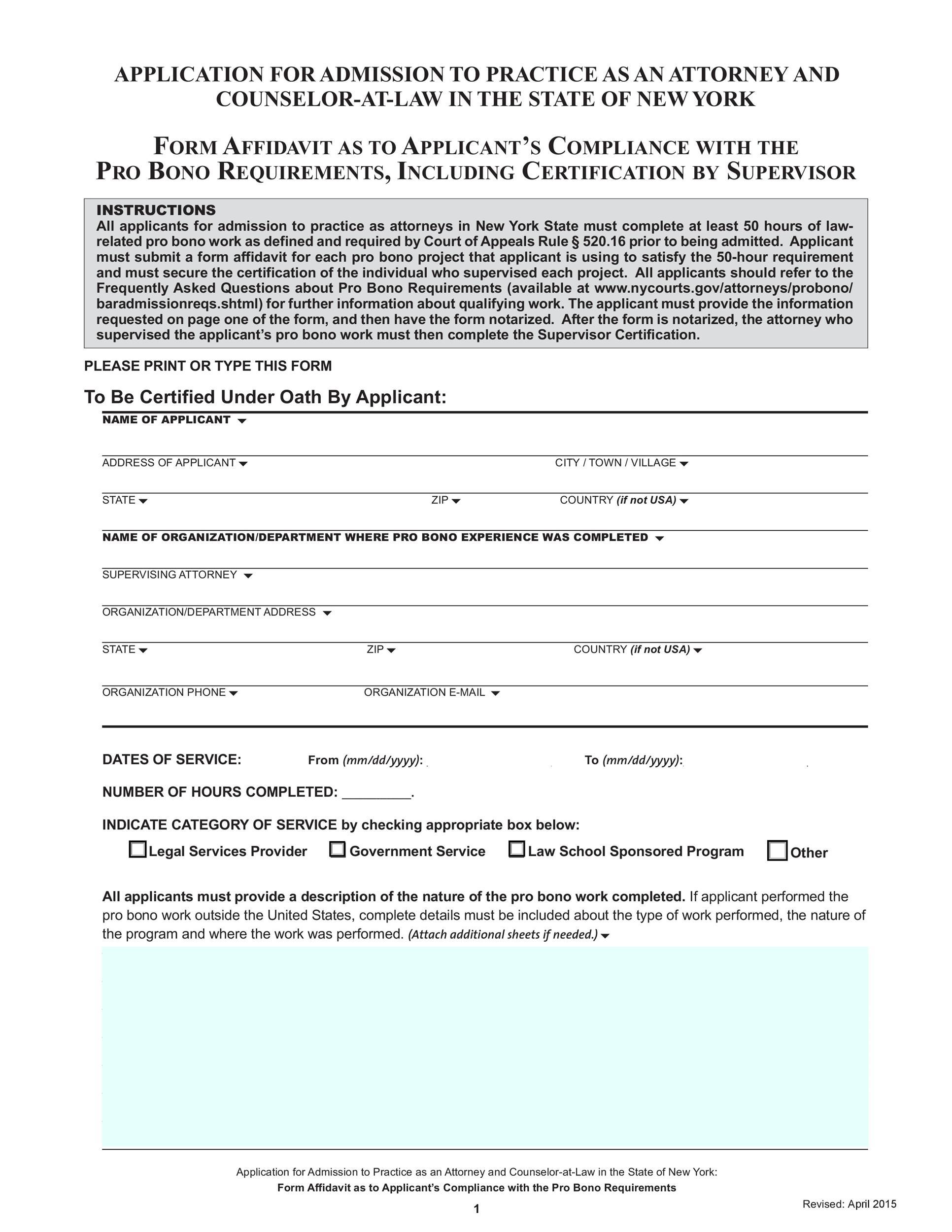 Doc564729 Blank Affidavit Form Free Blank Affidavit Form 72 – Affidavit Form Free