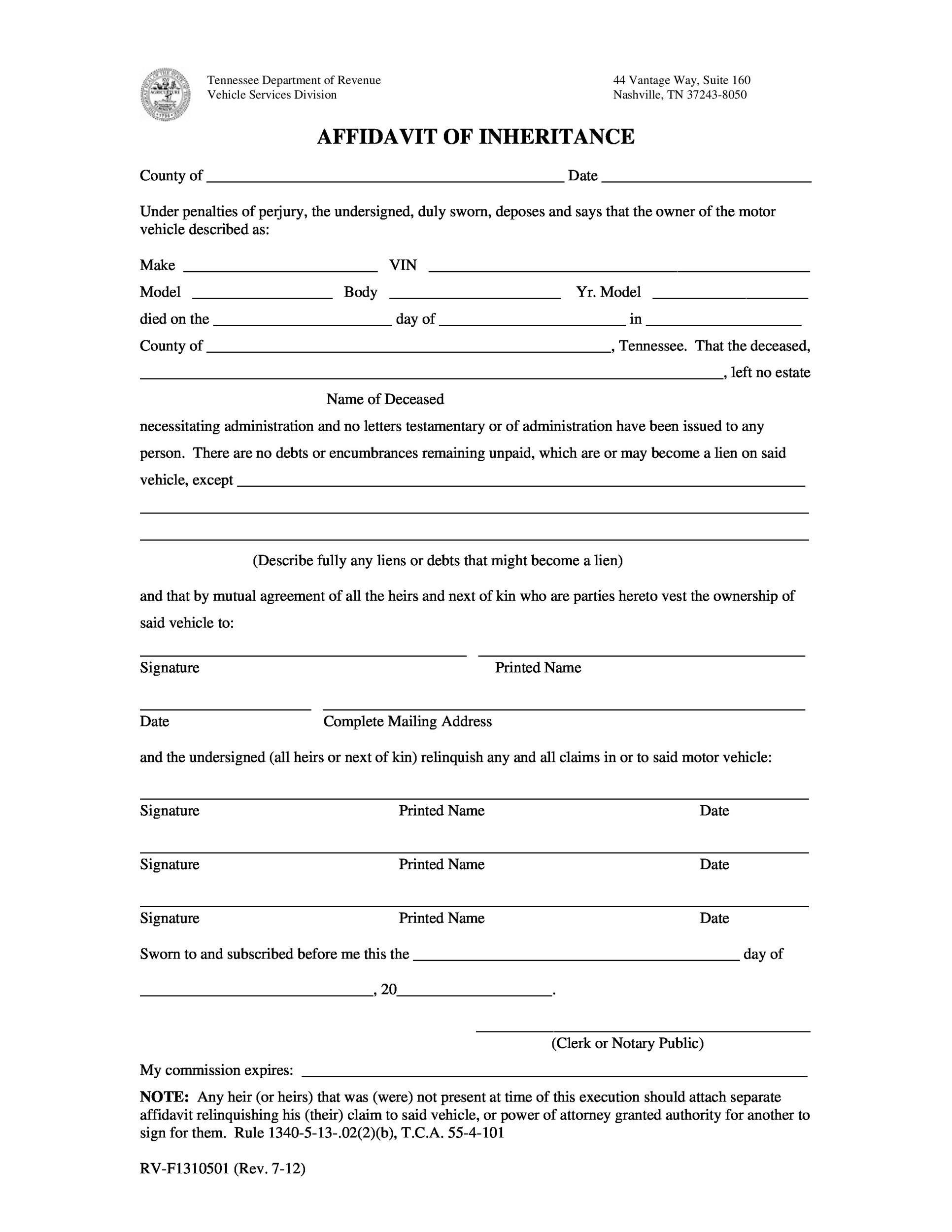 Doc7301000 Affidavit of Facts Template Affidavit Of Fact – Affidavit Template Doc