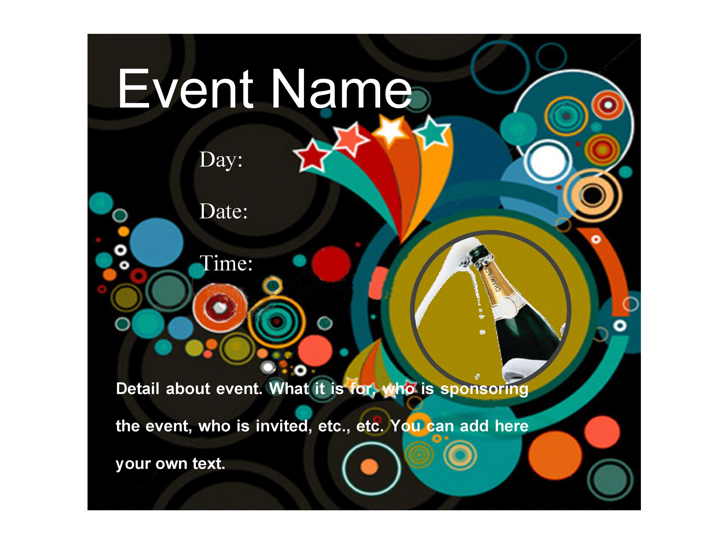 40+ Amazing Free Flyer Templates Event, Party, Business, Real Estate
