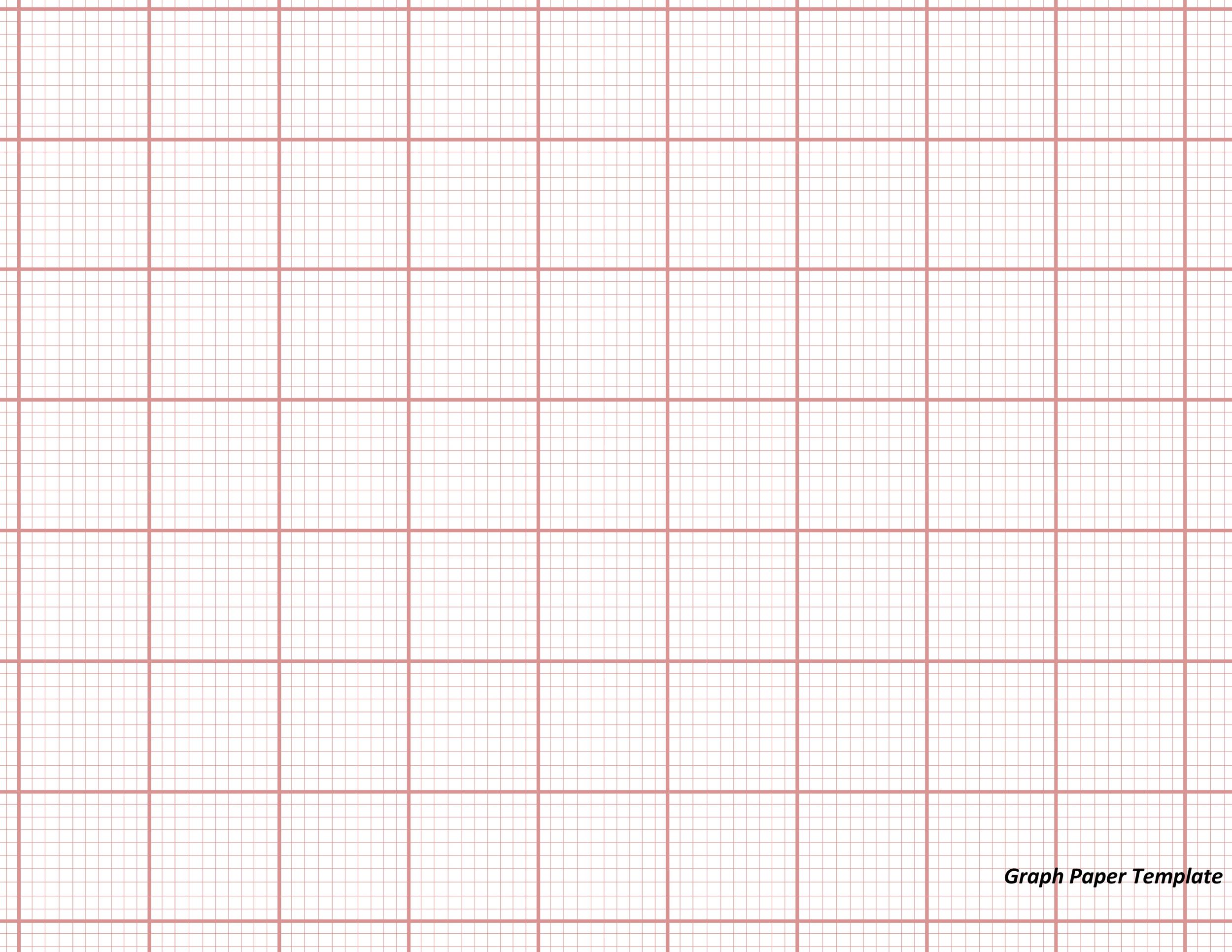30+ Free Printable Graph Paper Templates (Word, PDF) ᐅ Template Lab