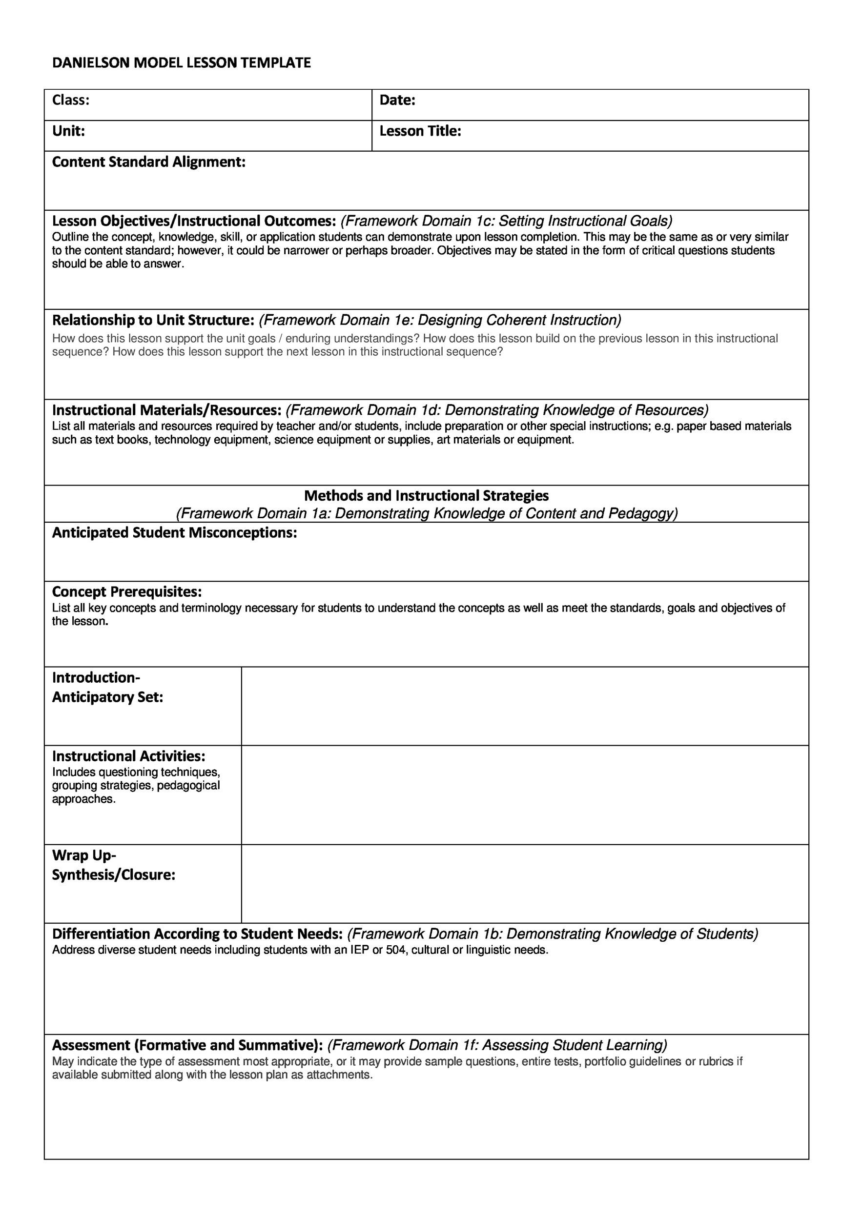 Excellent Lfs Lesson Plan Template Images Example Resume Ideas - Soccer lesson plan template