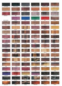 Redken Shades Hair Color Chart | shades of red hair color ...