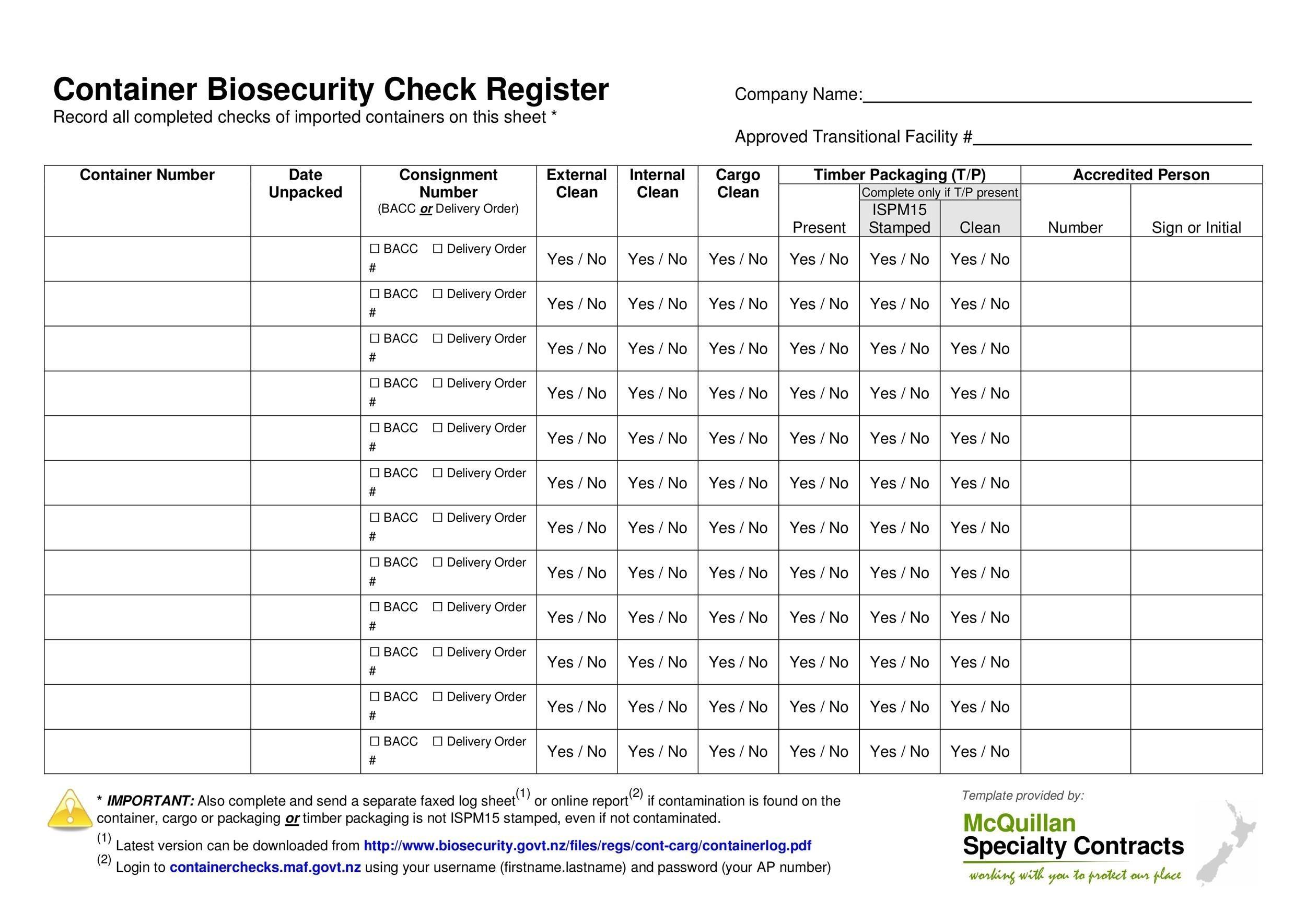 37 Checkbook Register Templates 100 Free, Printable - Template Lab