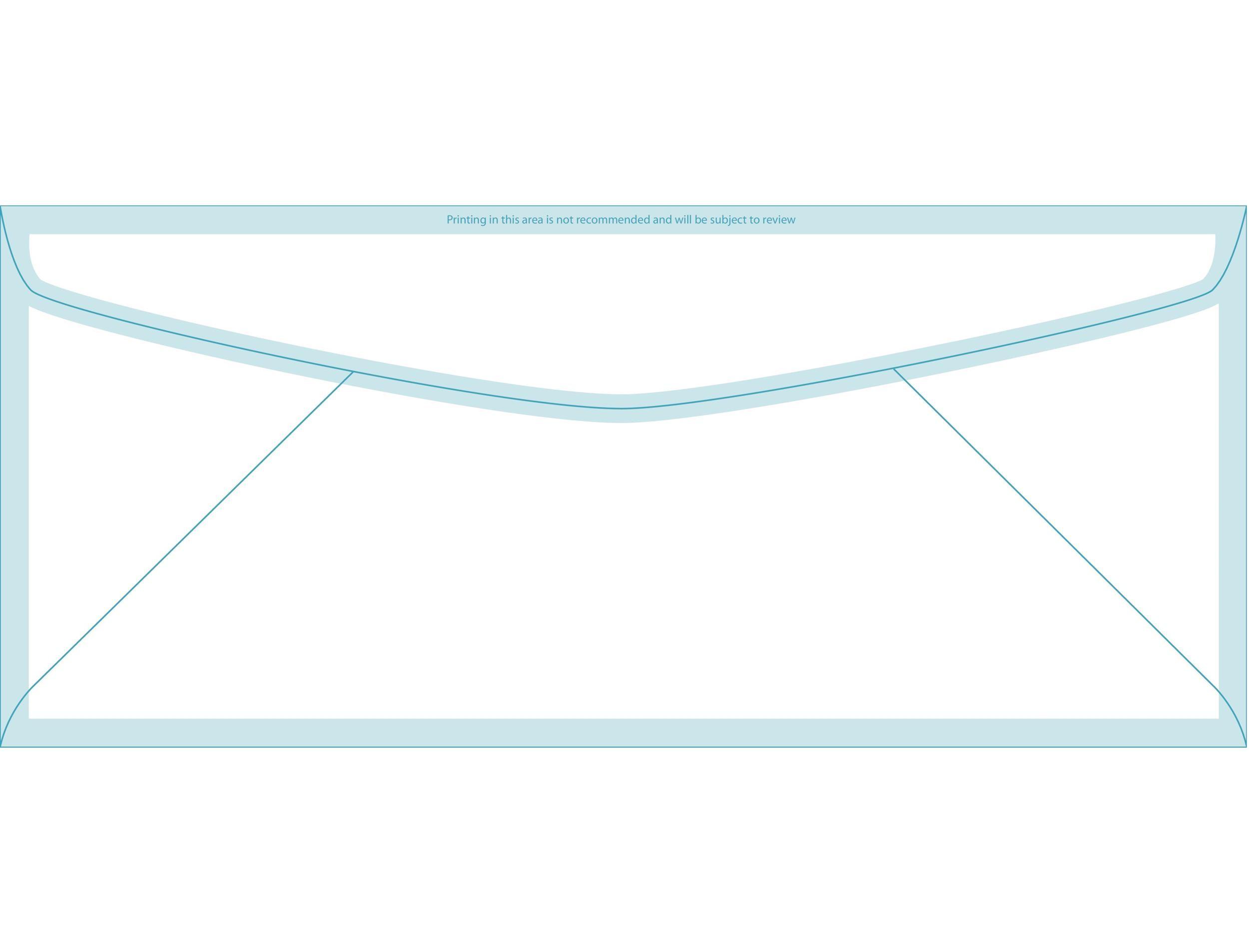 40+ FREE Envelope Templates (Word + PDF) - Template Lab - envelope printing template