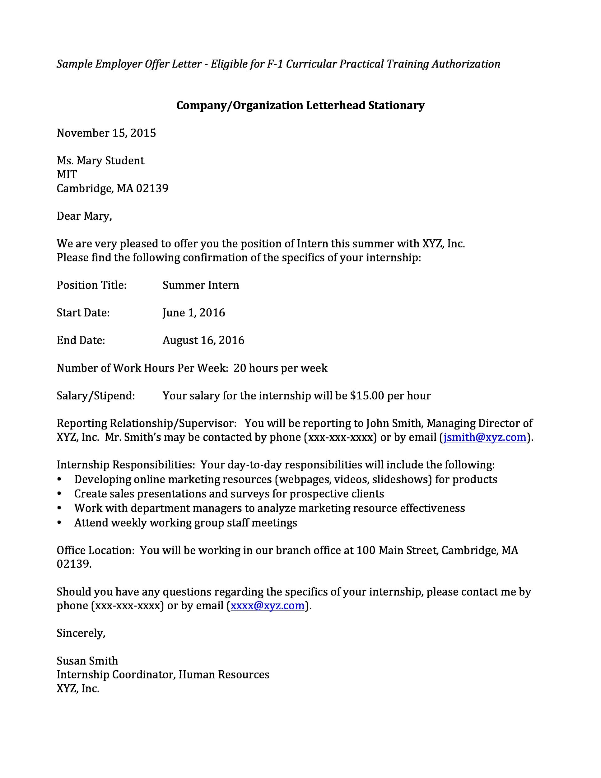 How To Write A Job Refusal Email Cover Letter