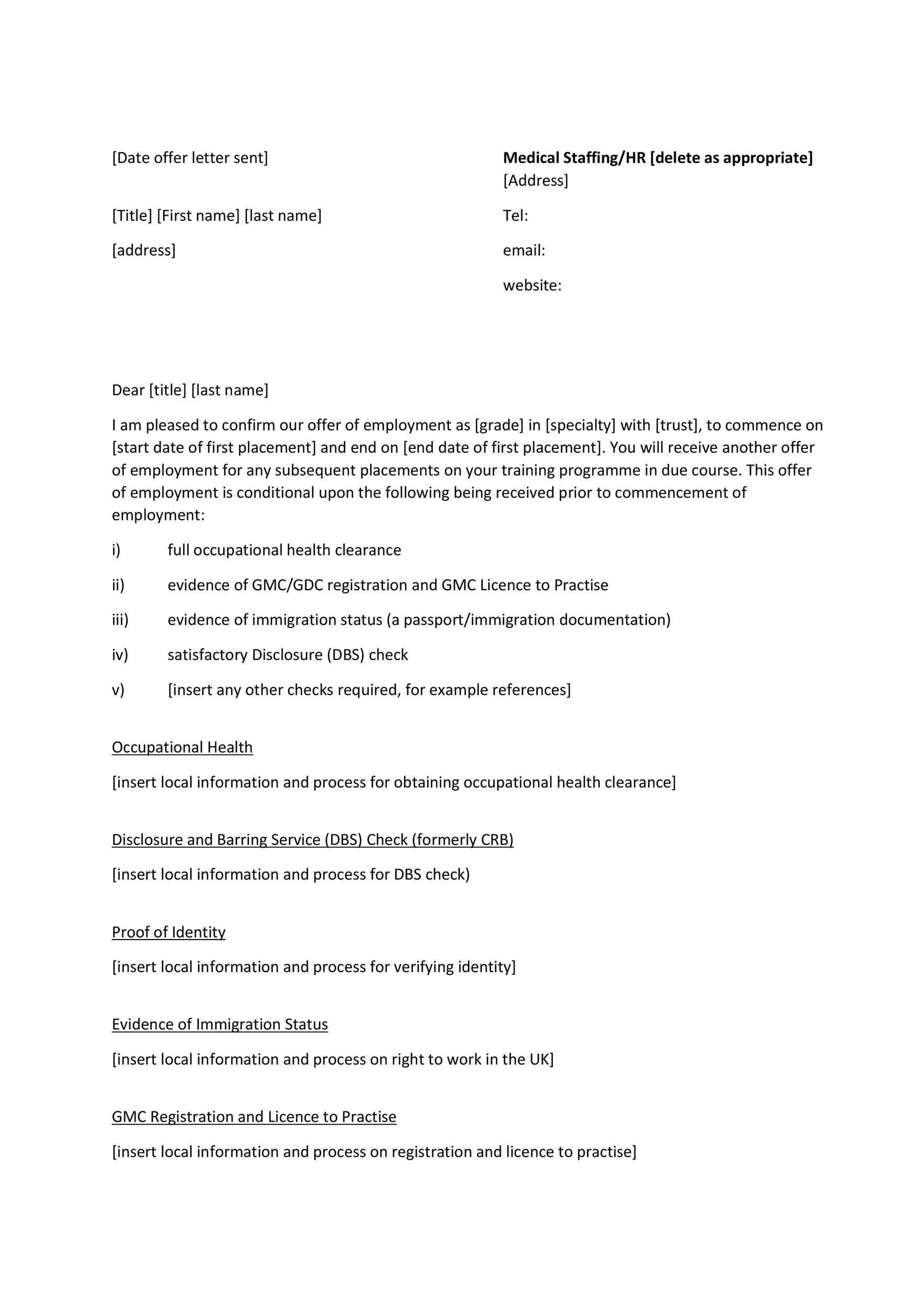 job counter offer letter
