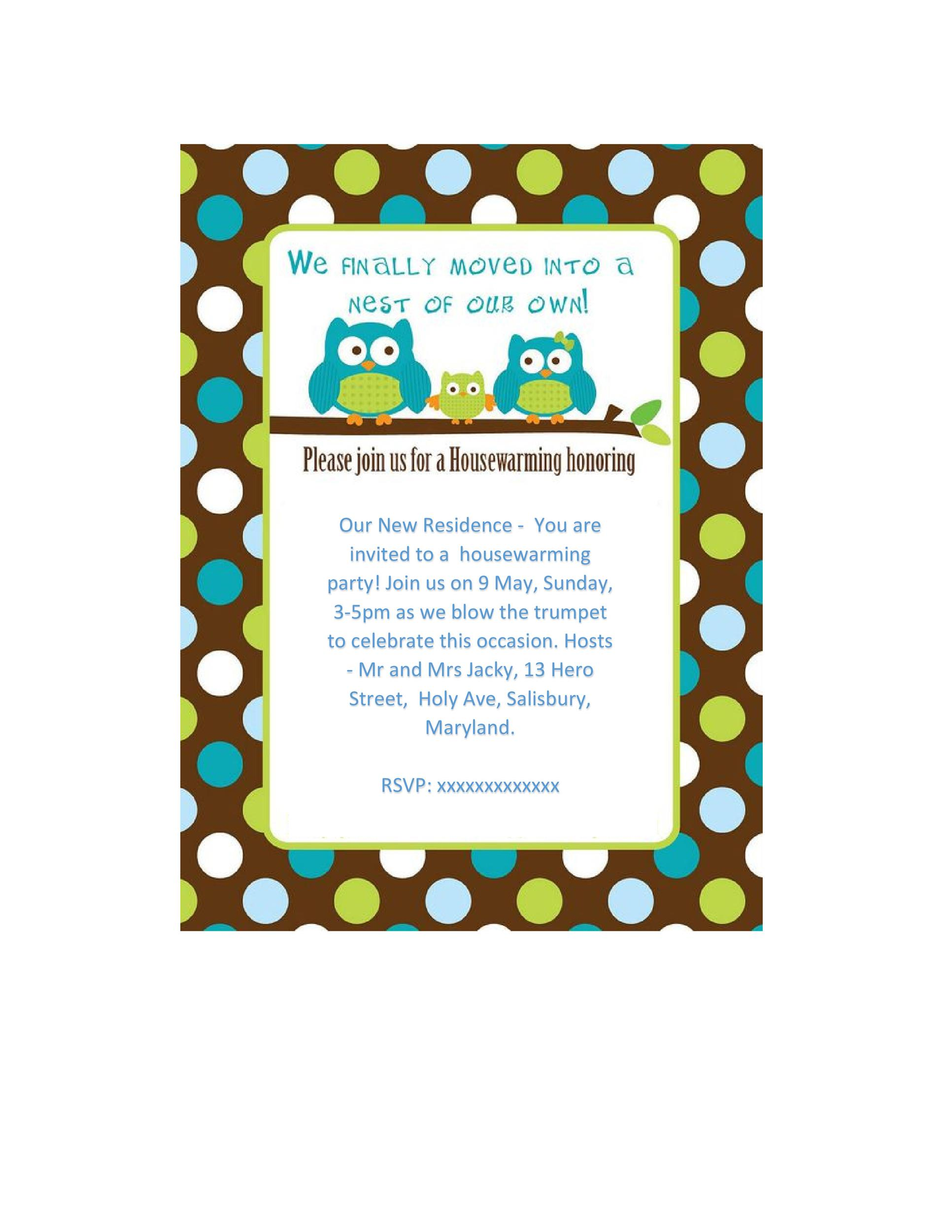 40+ Free Printable Housewarming Party Invitation Templates - get together invitation template
