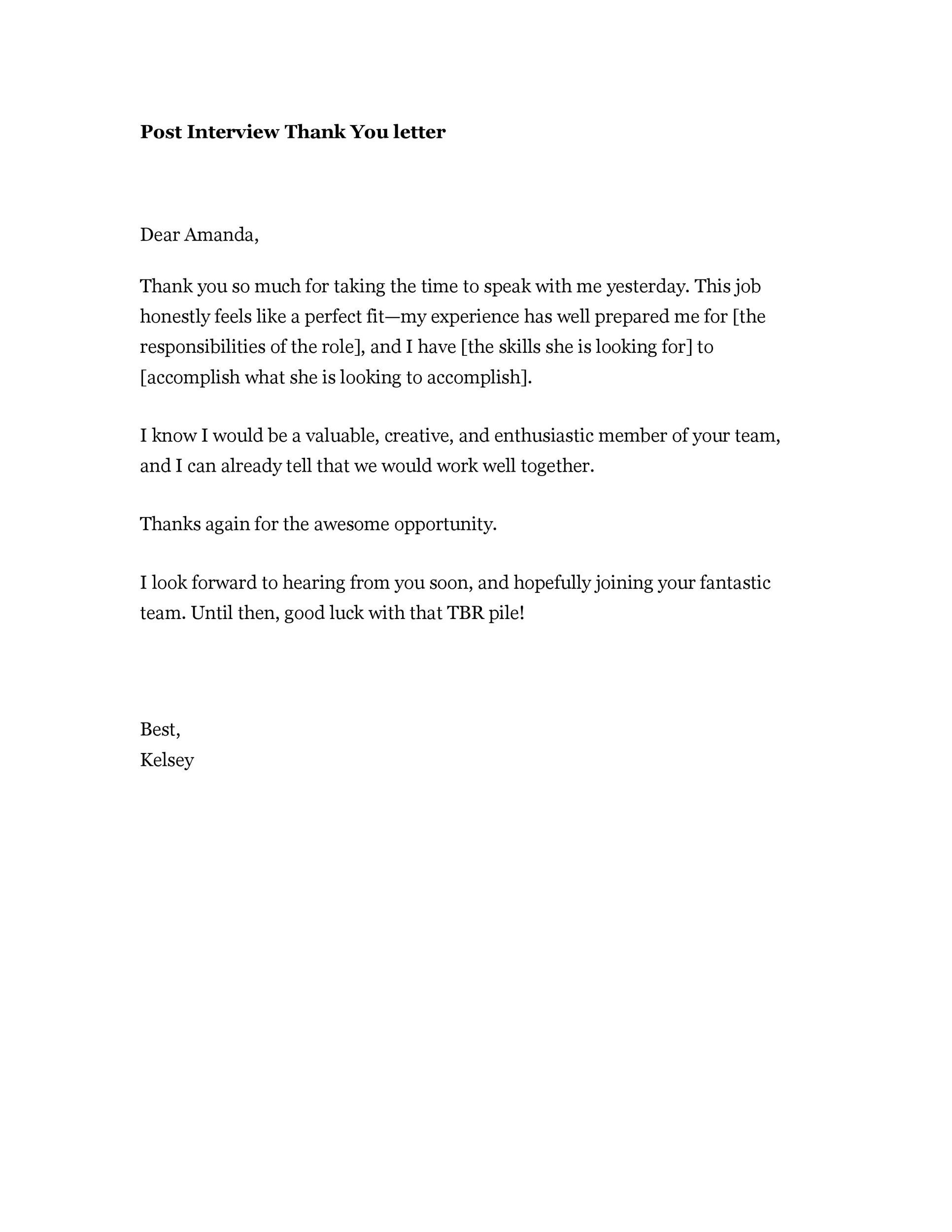 Professional Thank You Letter 84 Samplescsat - thank you email template