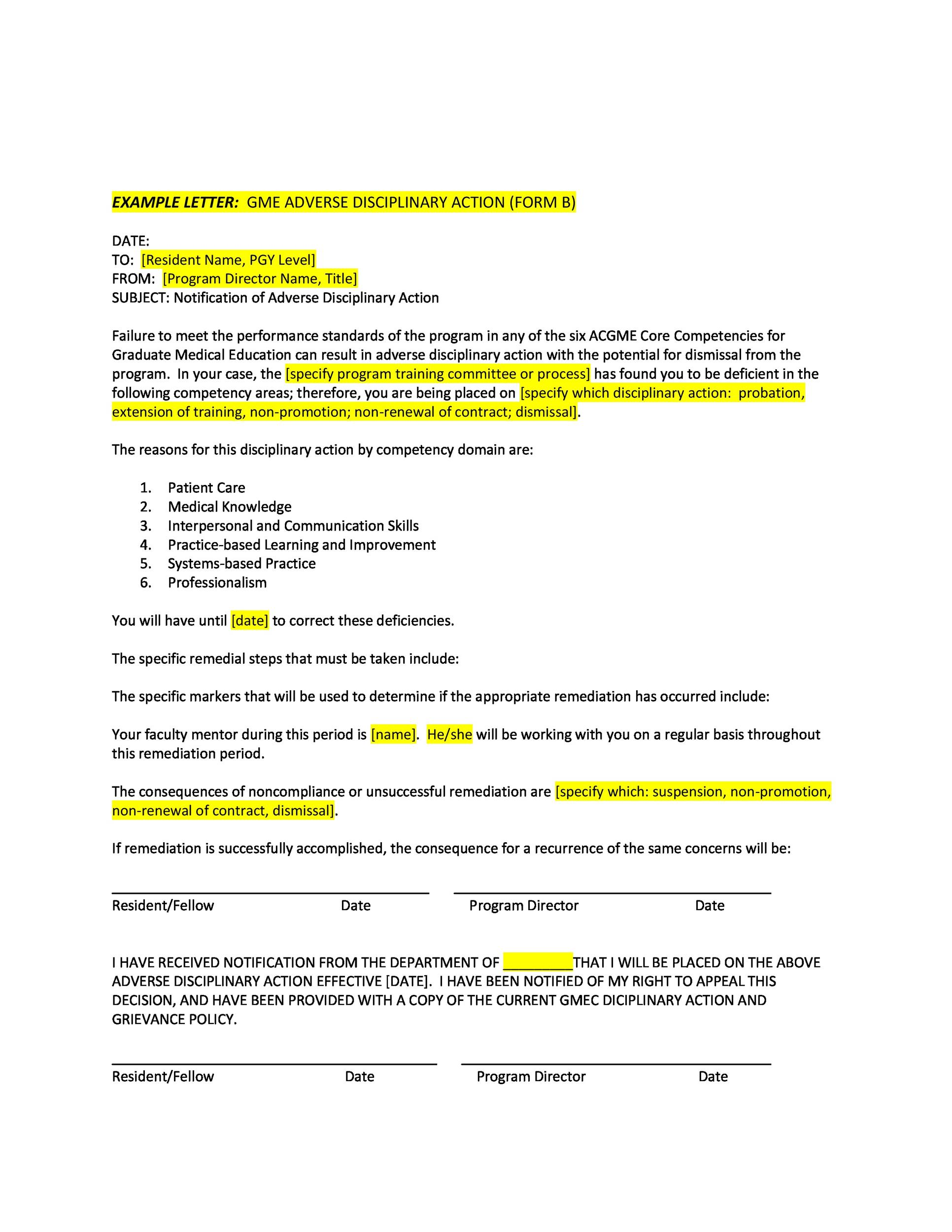 How To Write A Employee Write Up Form – Employee Write Up Form