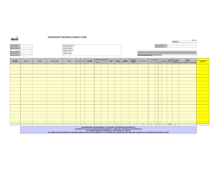 40+ Order Form Templates work order / change order + MORE