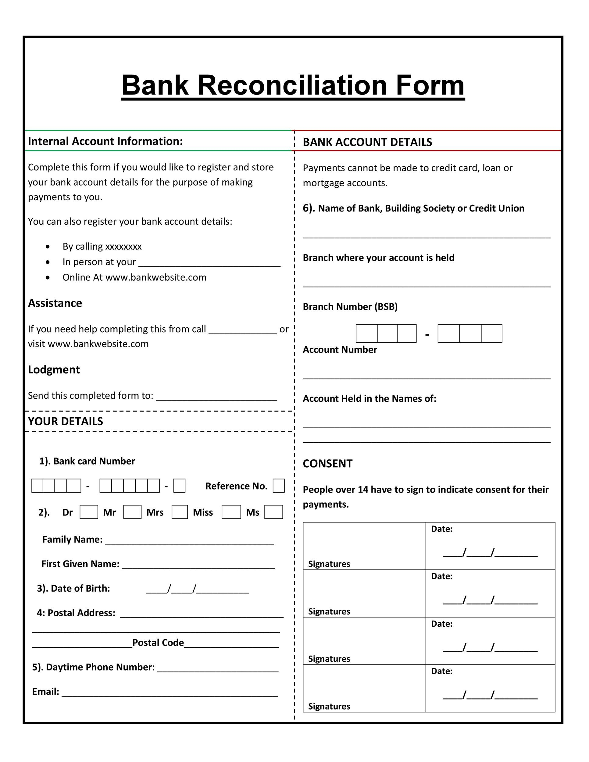 gl account reconciliation template - Josemulinohouse