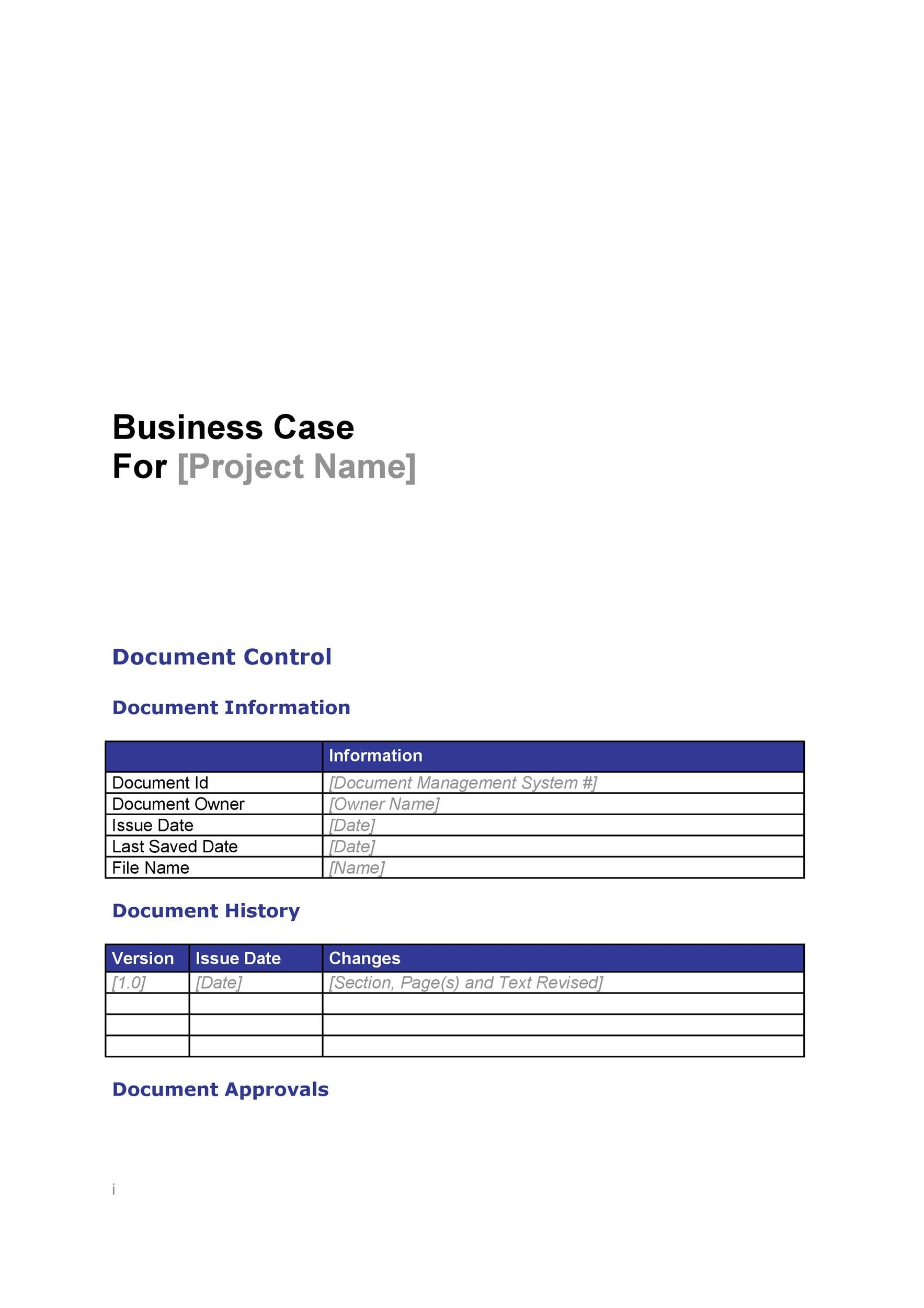 30+ Simple Business Case Templates  Examples - Template Lab