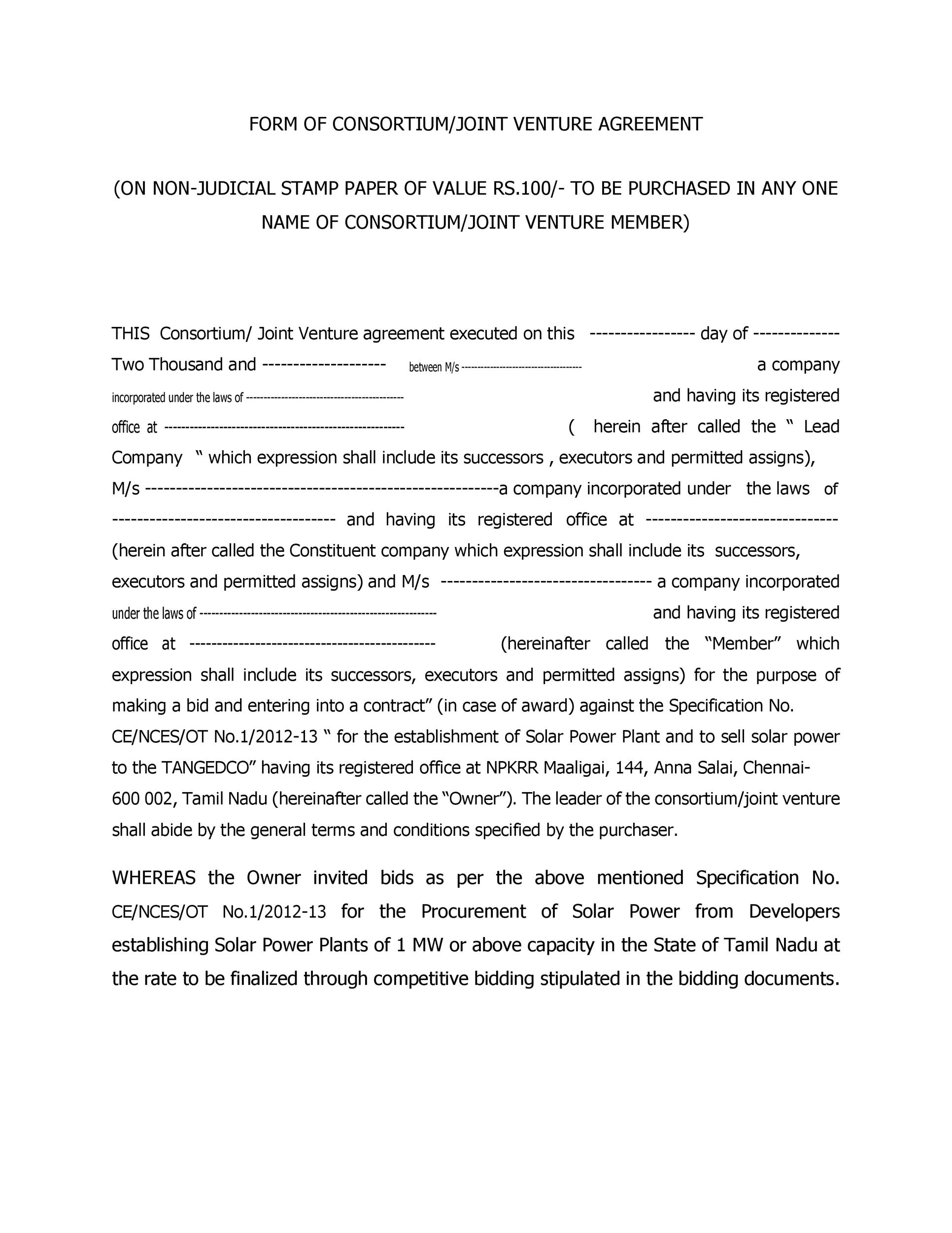 Agreement Form Doc Sample Business Contract Template Band - agreement form doc