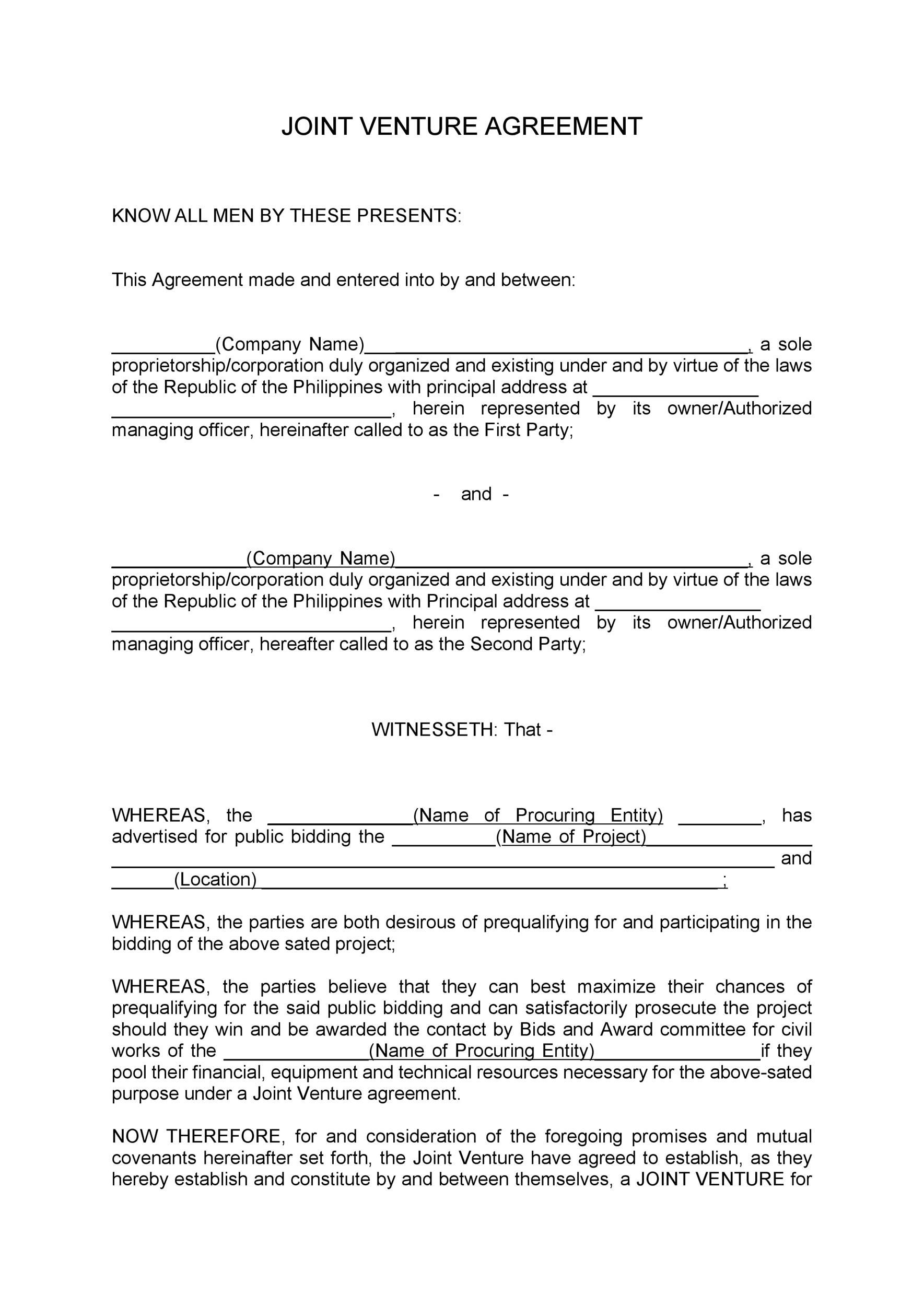 Project Contract Template - Eliolera - project contract templates